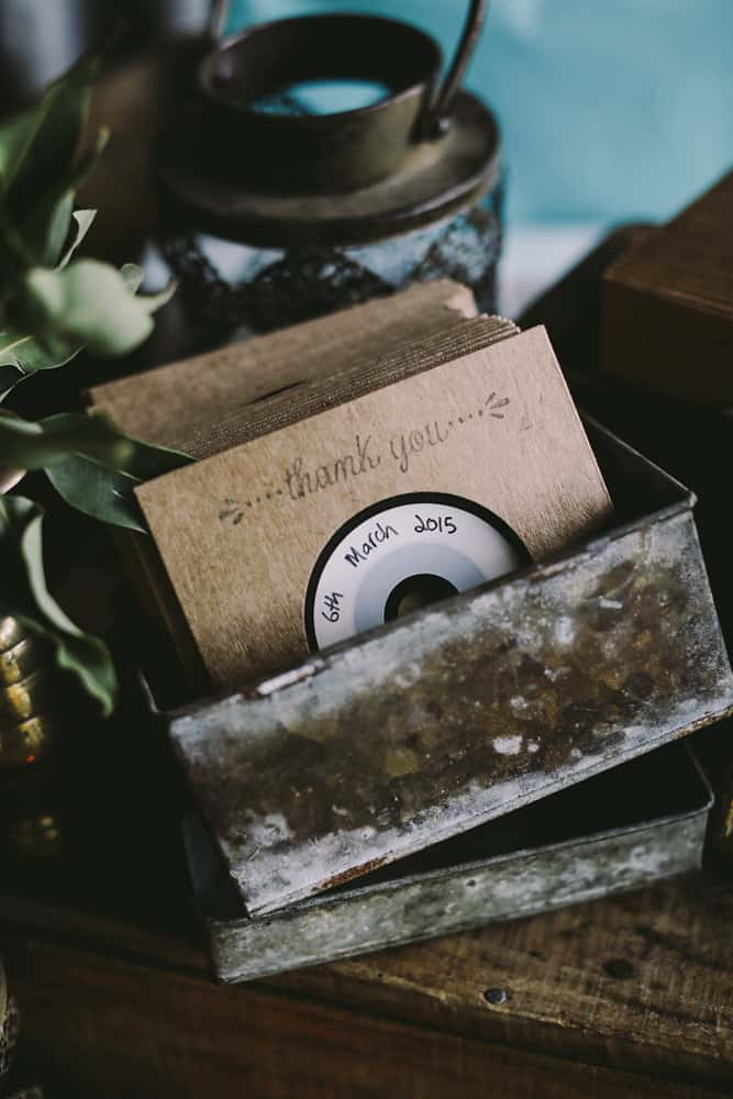 Best DIY wedding details of 2015 / mix tape wedding favours