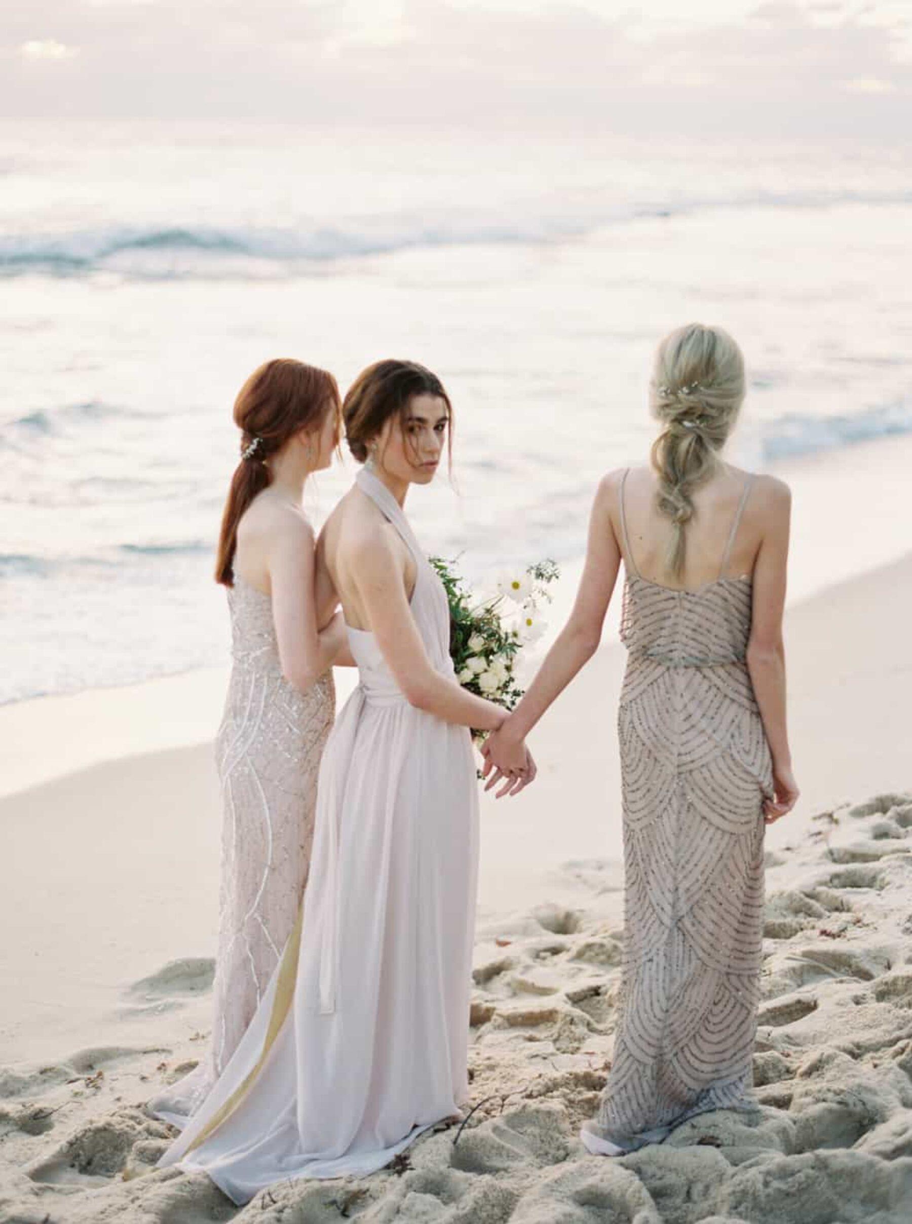Bridesmaid dresses from Babushka Ballerina/ Photography by Katie Grant