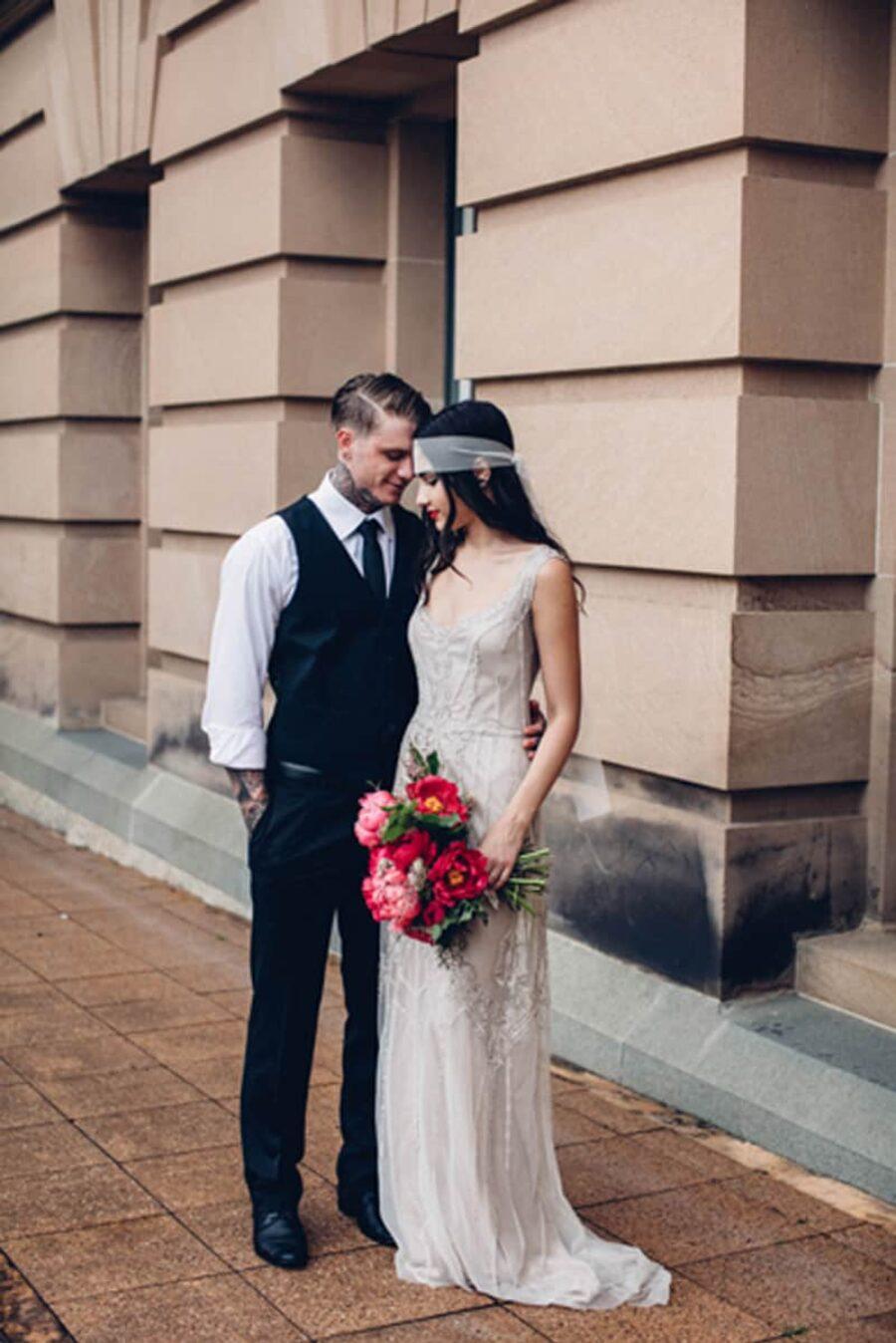 Urban Brisbane wedding