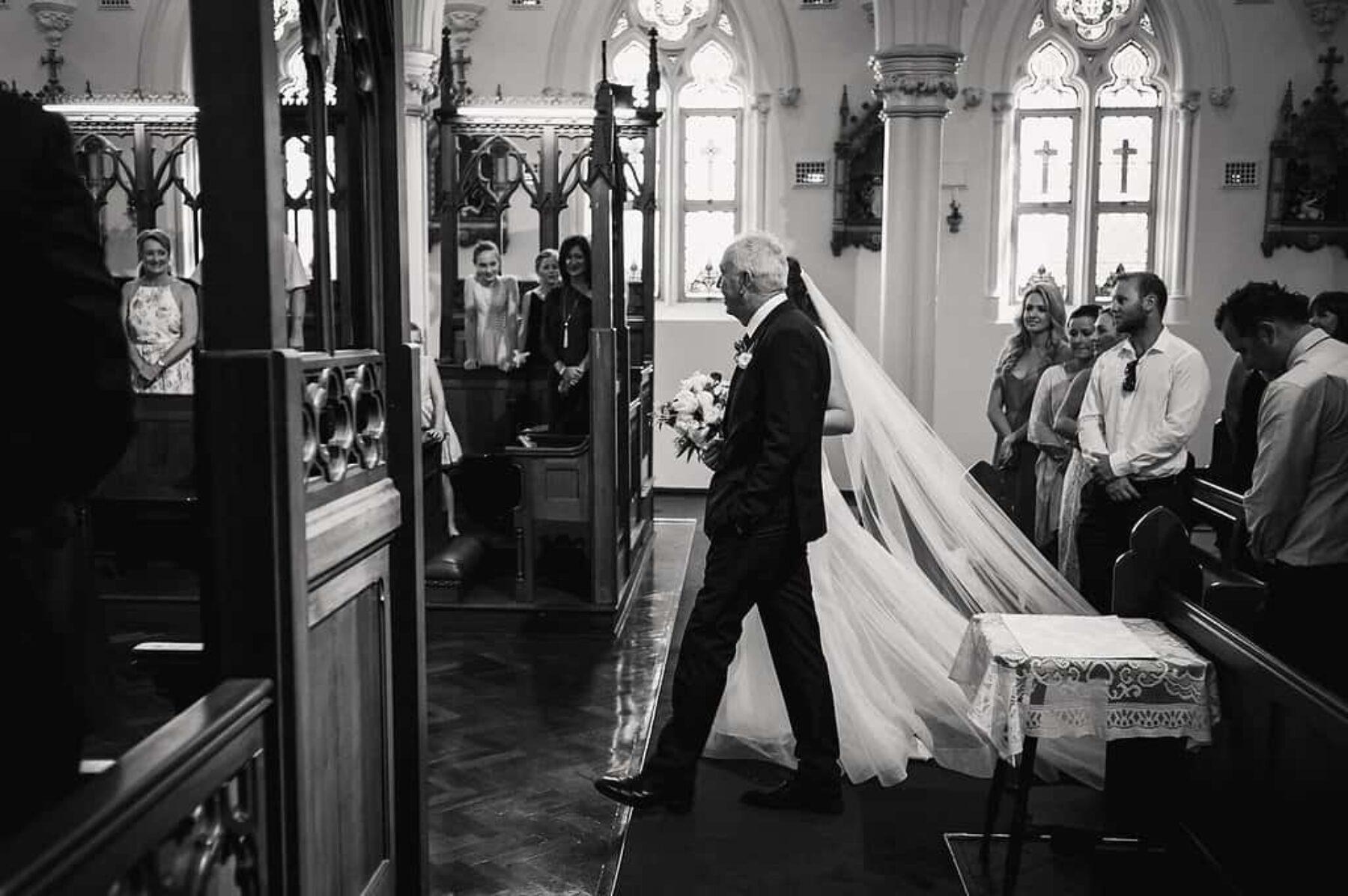 Mercedes College Chapel wedding