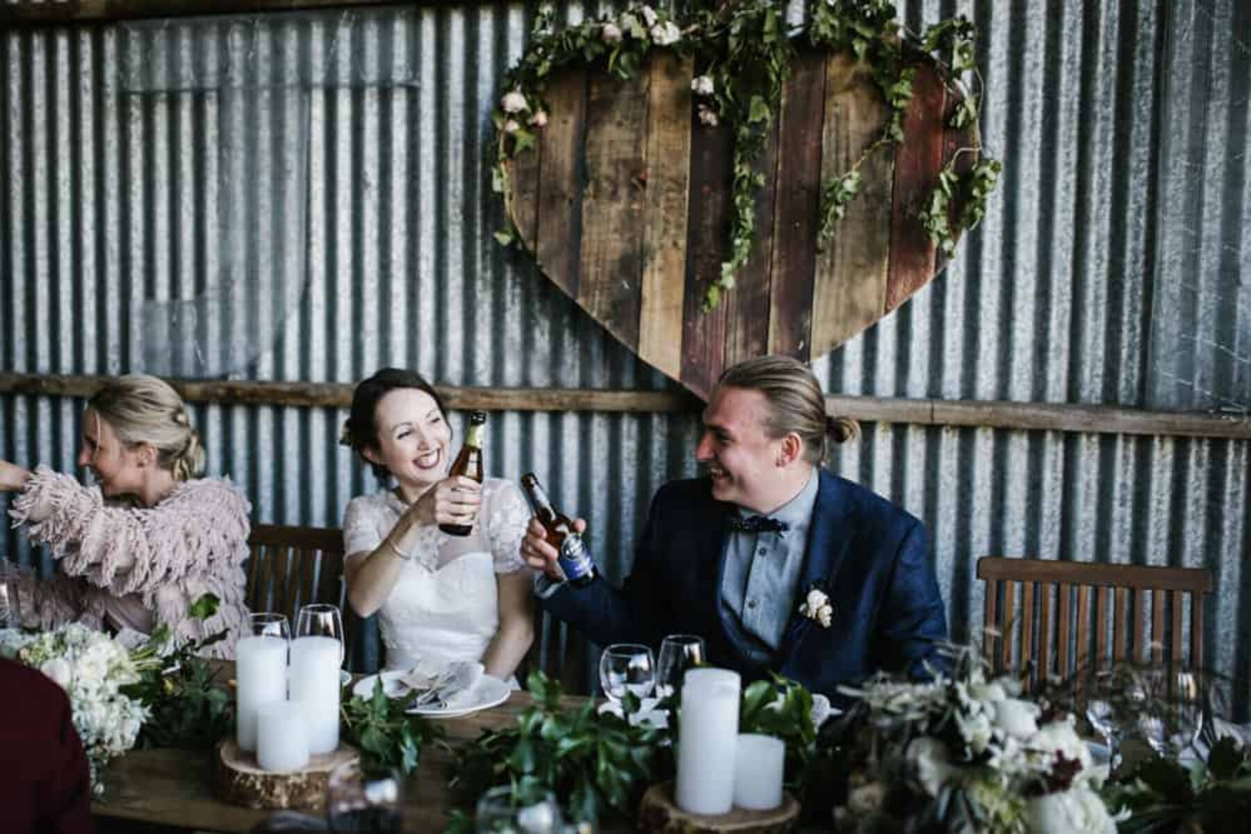 Rustic barn wedding in Kyneton Victoria / Photography by Brown Paper Parcel