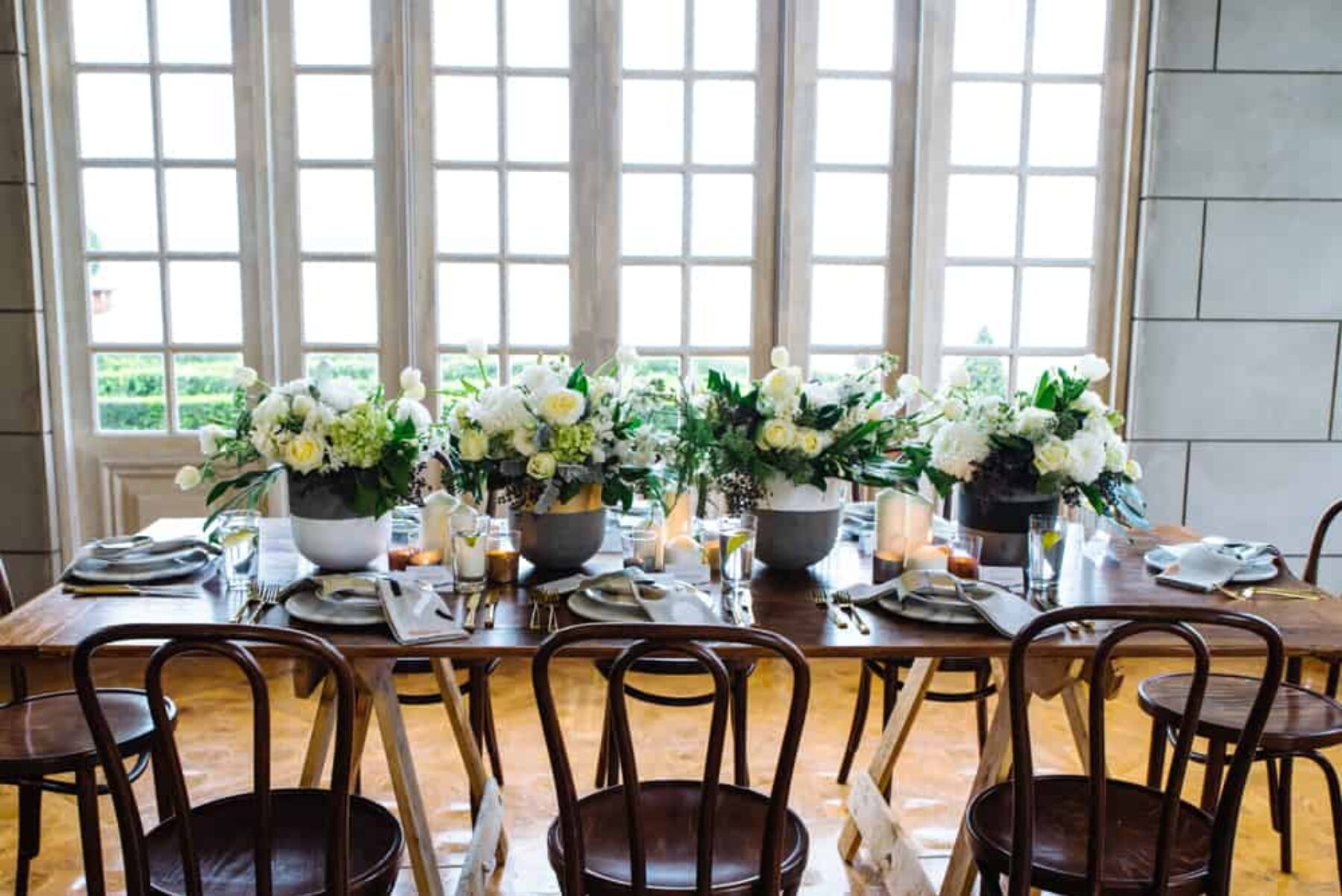 Luxe wedding inspiration at Campbell Point House