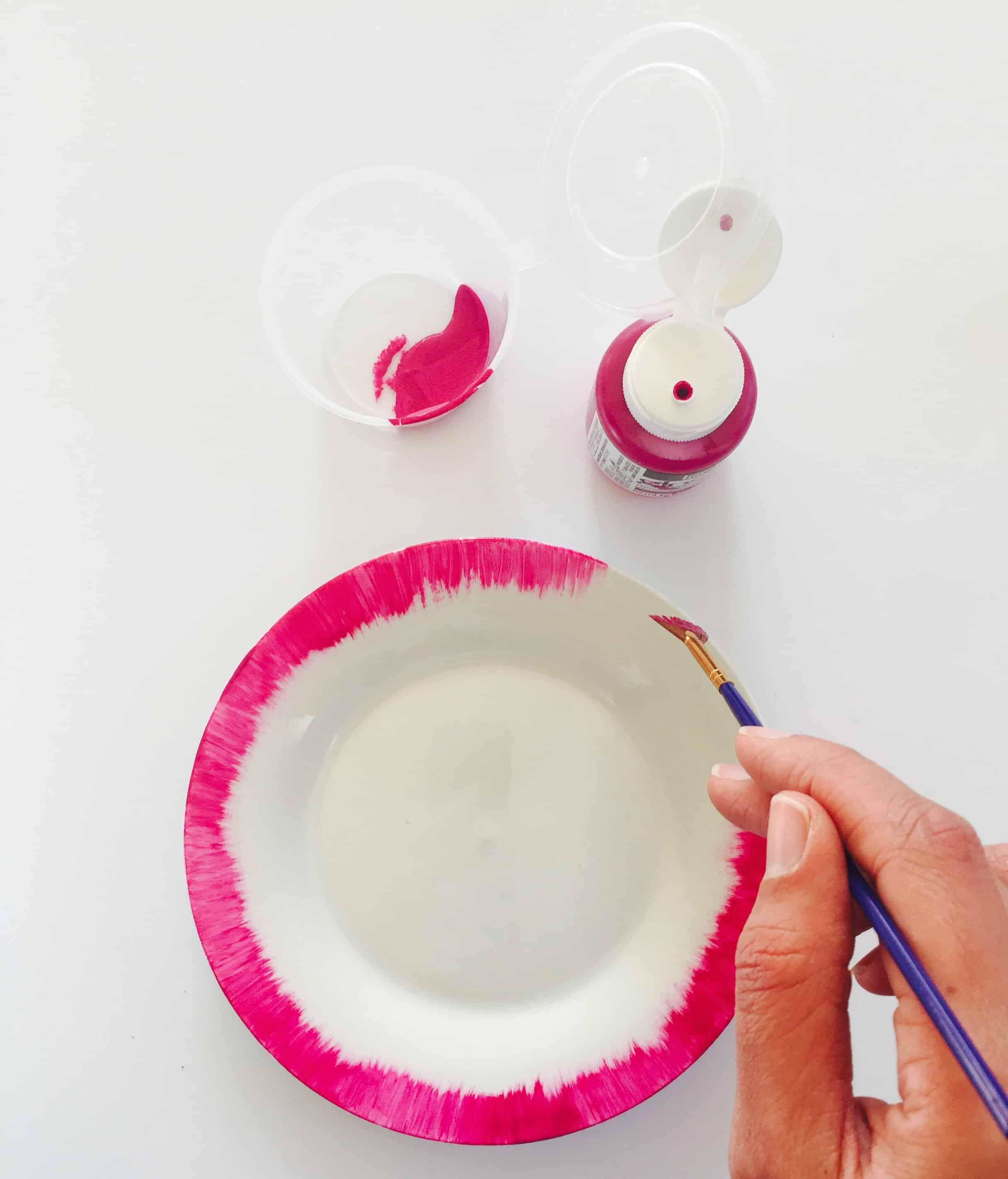 diy-pink-rimmed-plates-06