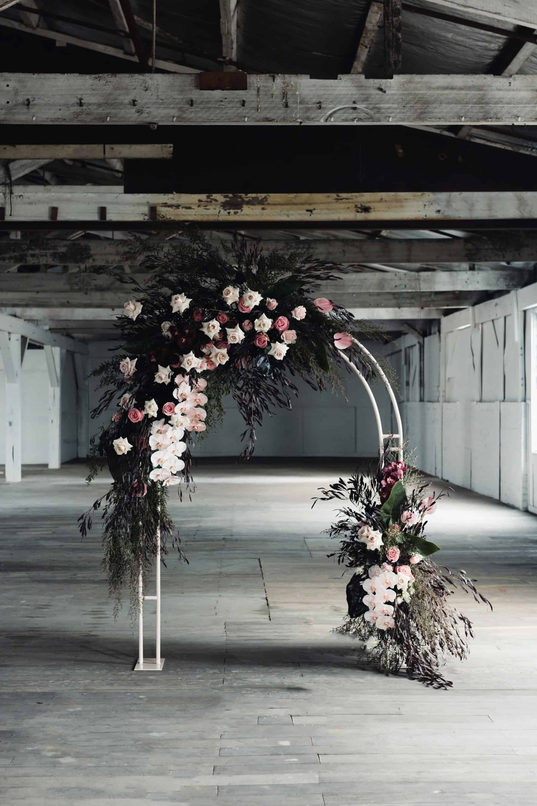 Melbourne warehouse wedding venue