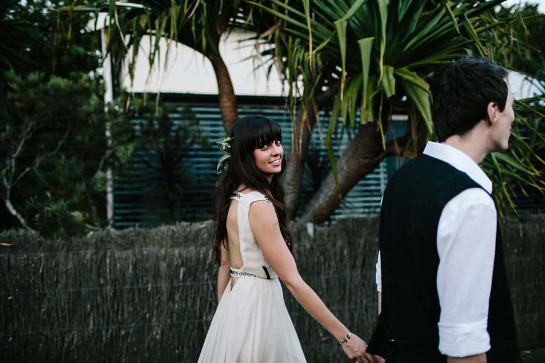 Boho Byron Bay wedding at The Secret Garden