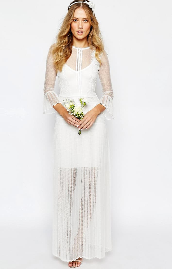 Body Frock Bridal Bluebell Dress