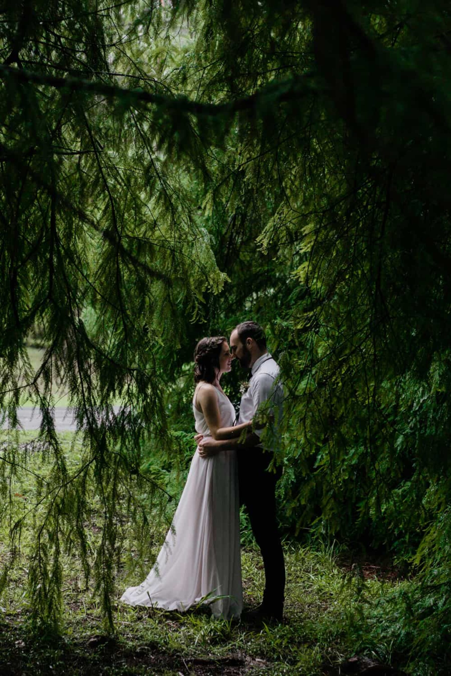 Tamborine Mountain elopement - photography by Aaron Shum