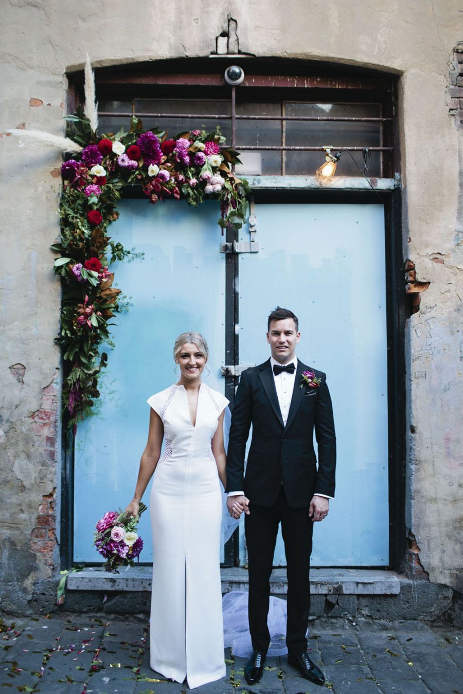 Industrial wedding at Bang Bang Boogaloo