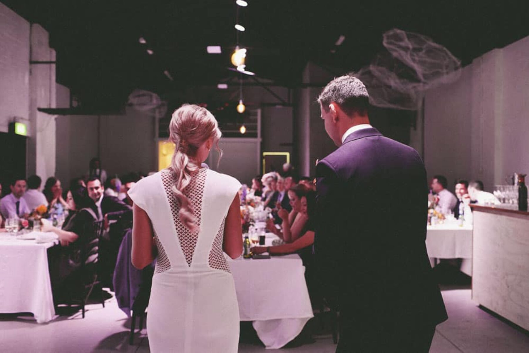 Industrial wedding at Ellis Street Studio