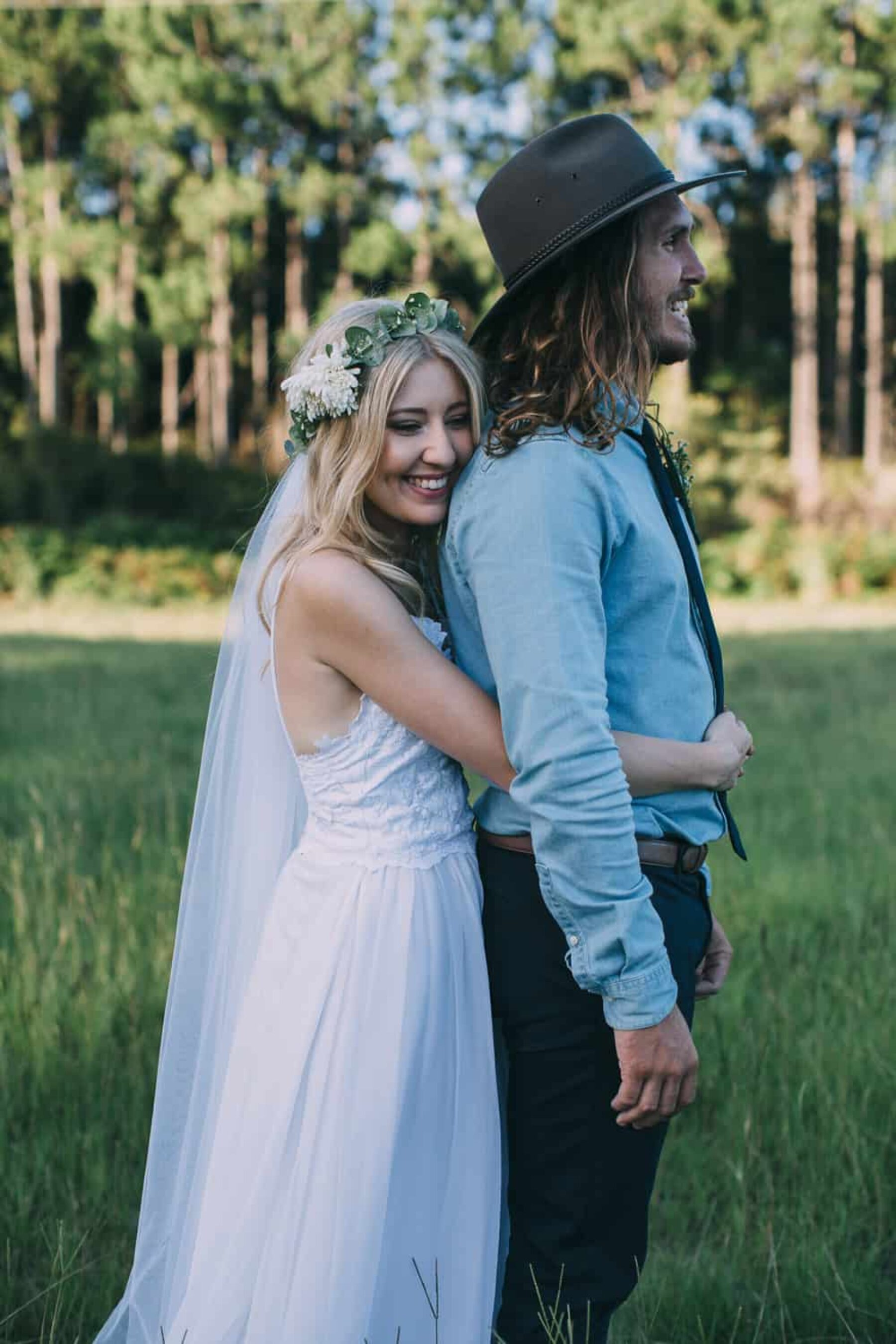 Boho farm wedding in Kingscliff NSW