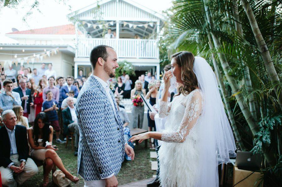 Brett & Alexandra's Surprise Backyard Wedding