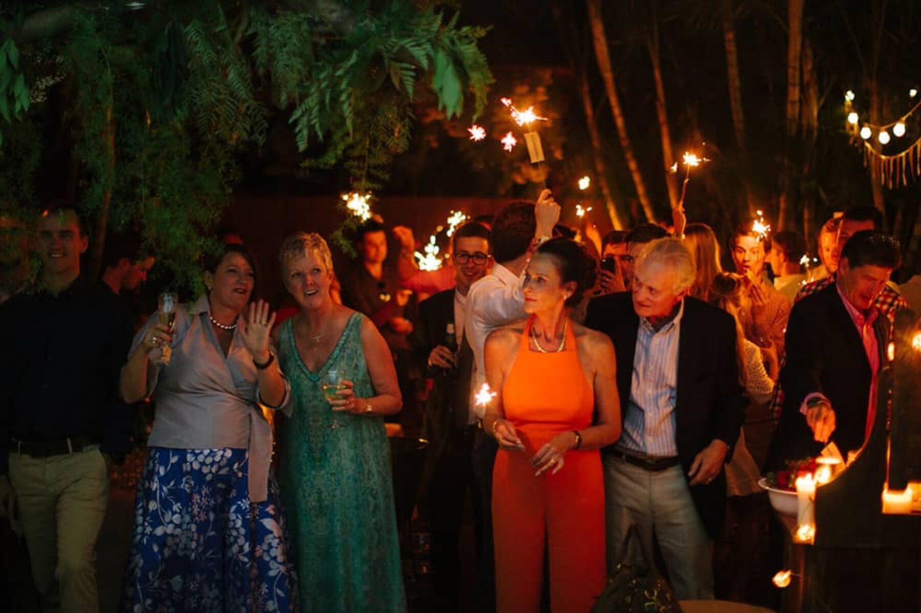 Surprise wedding! A modern backyard affair in Brisbane