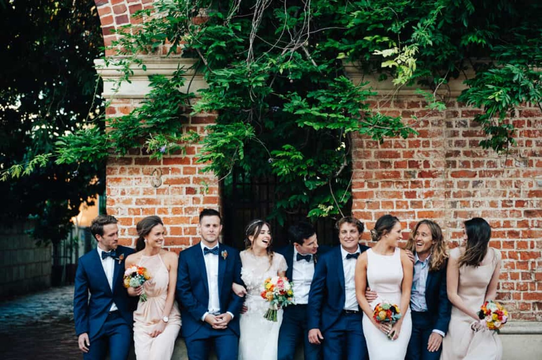 Relaxed Fremantle wedding at Moore & Moore Cafe