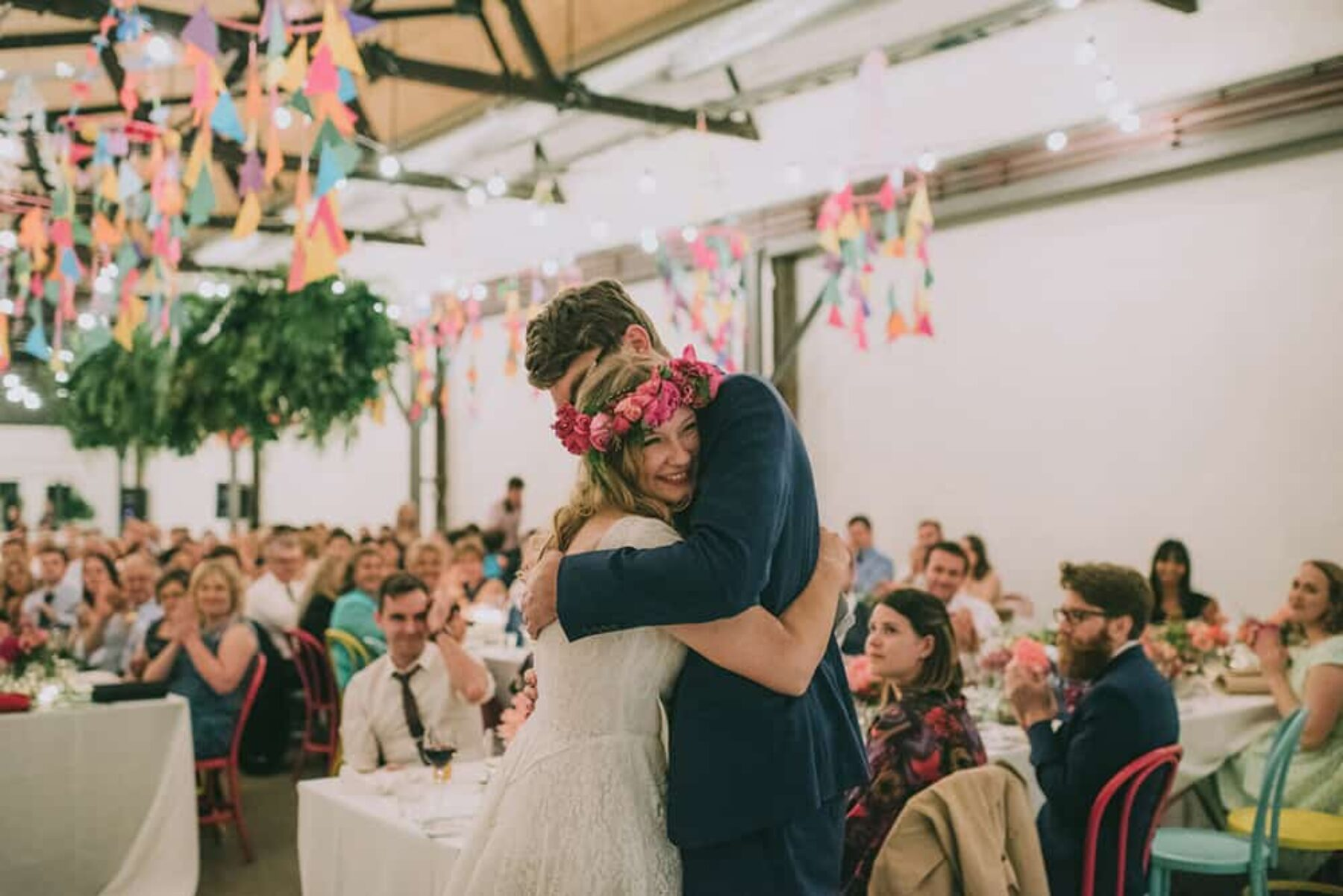 Colourful Melbourne wedding at Two Ton Max