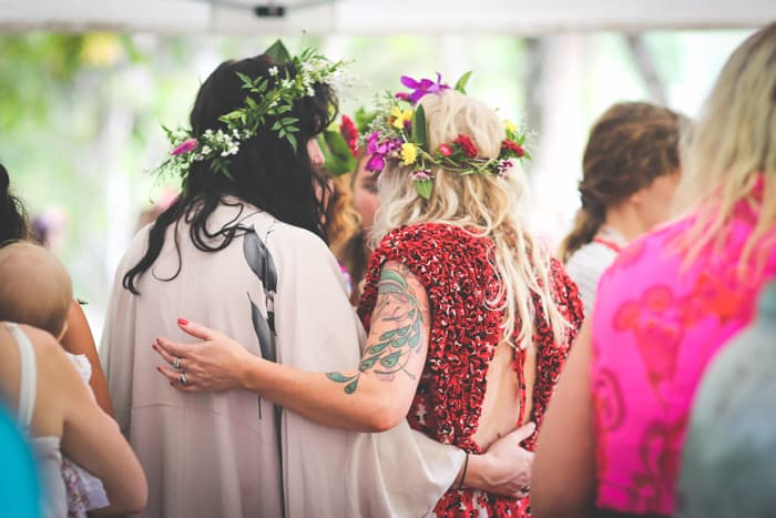 spiritual bohemian wedding | Nina Claire Photography
