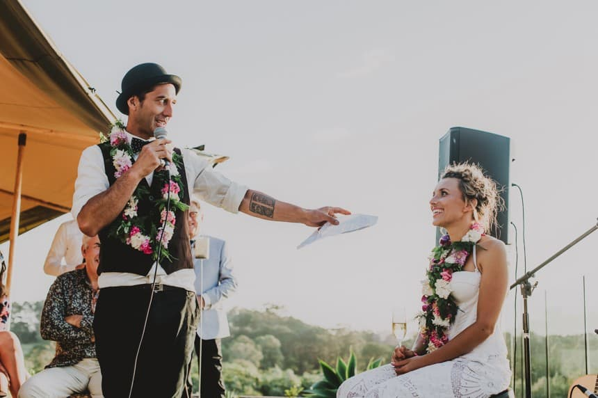 Byron Bay festival wedding | She Takes Pictures He Makes Films