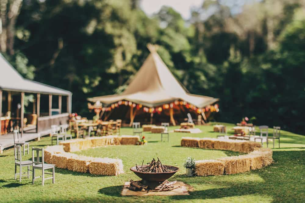 boho tipi wedding | The Robertsons Photography