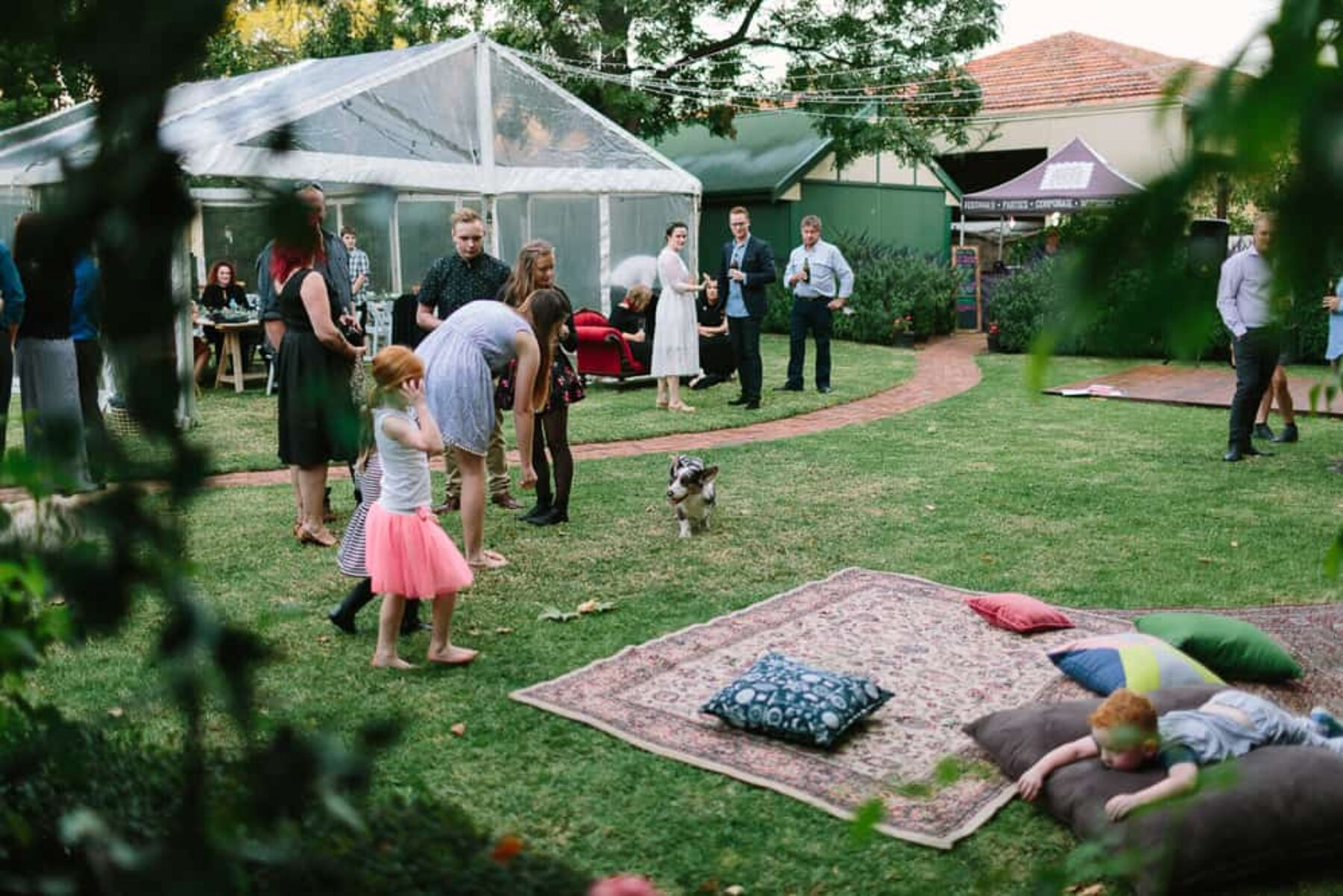 boho backyard wedding by Adeliade photographer Dave Pascoe