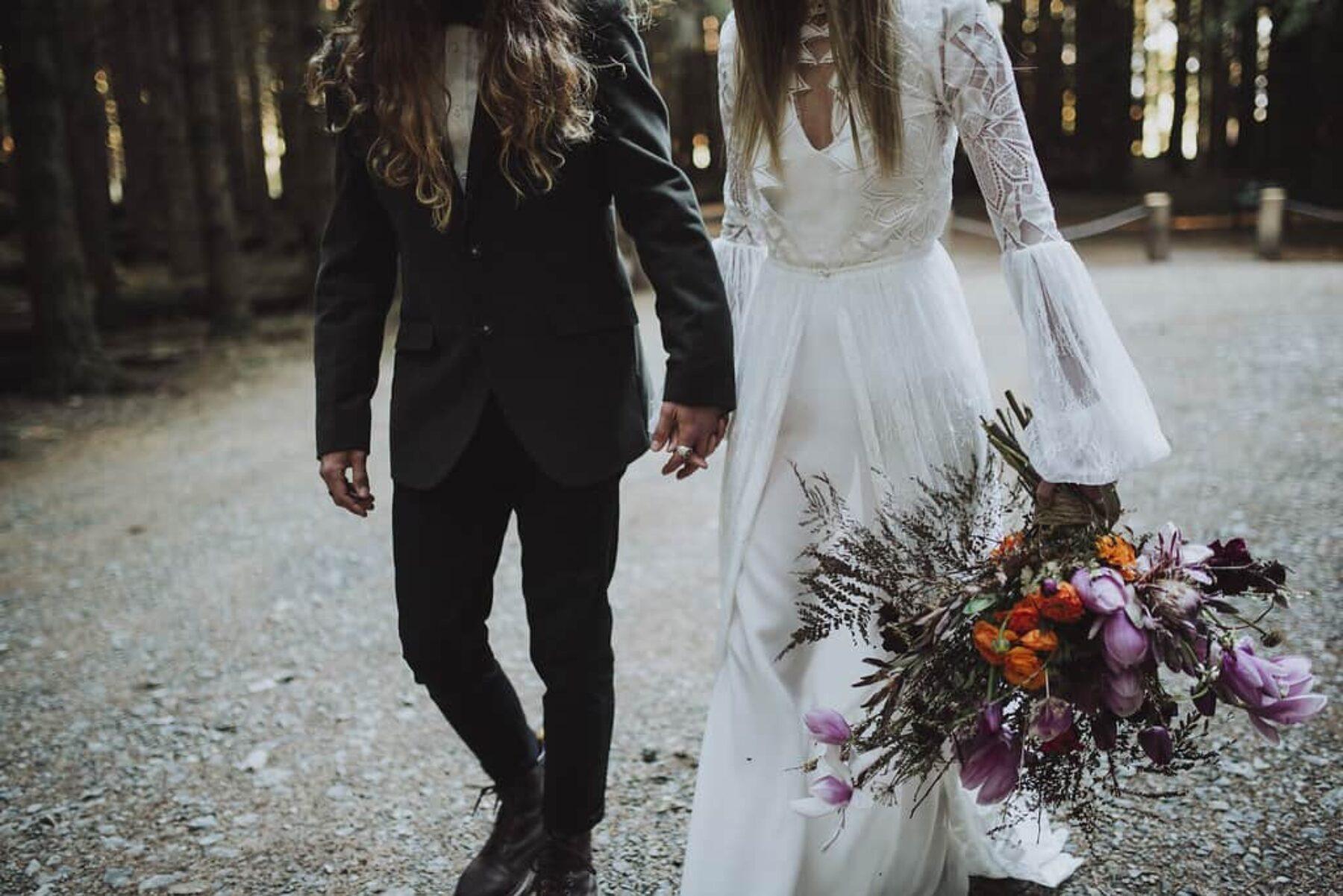 Bohemian elopement by Barefoot & Bearded
