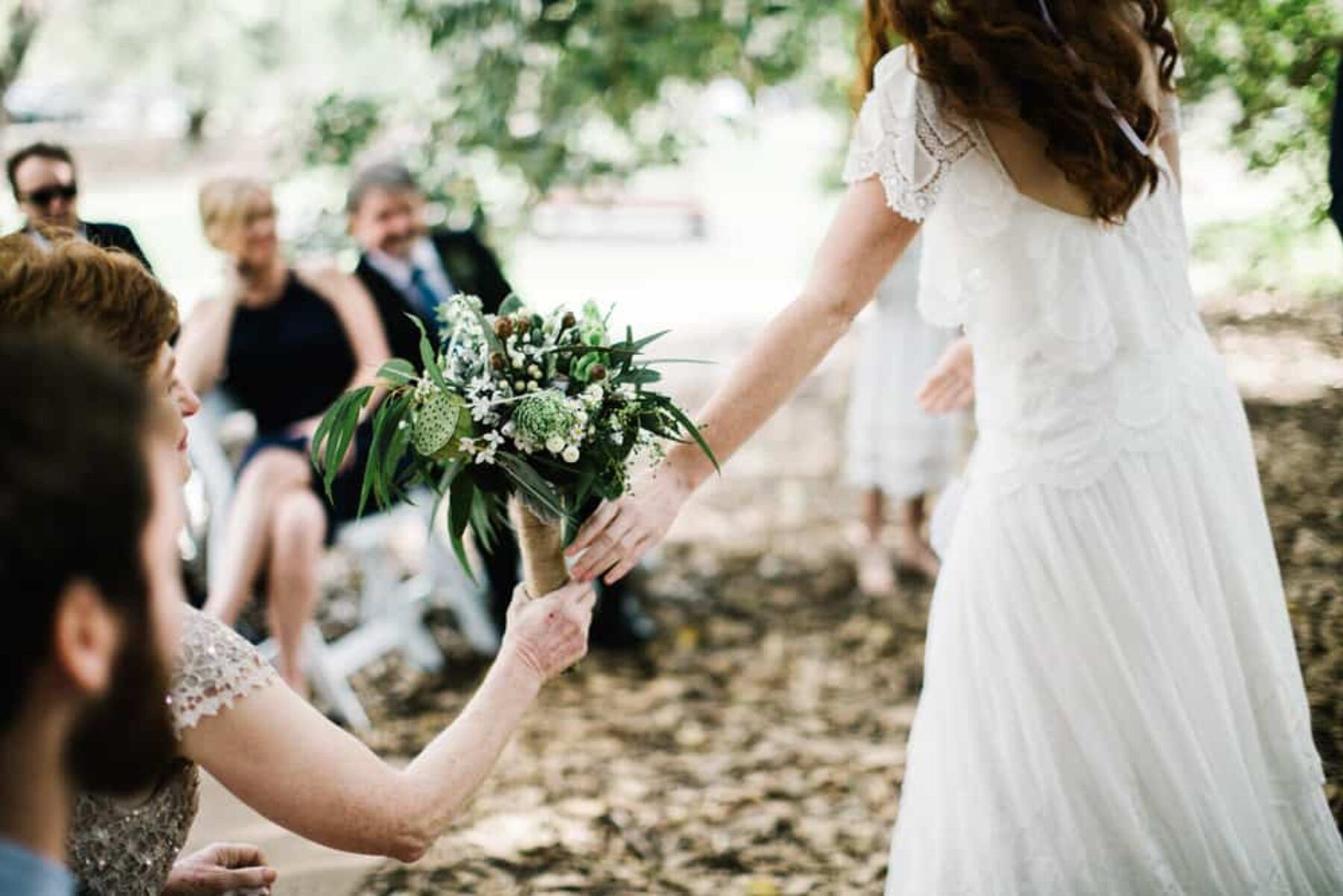 bohemian garden wedding at Kings Park