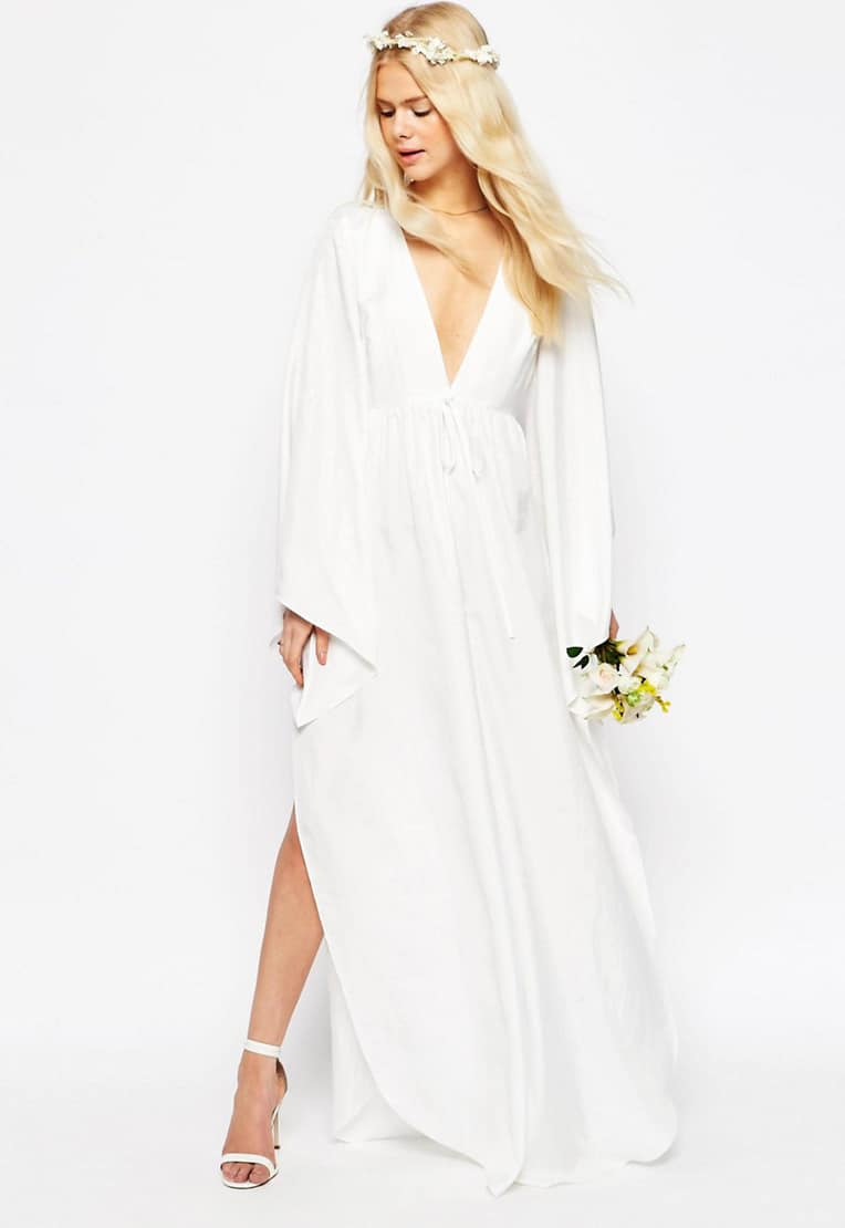 Top wedding dresses under $1000 - boho wedding jumpsuit