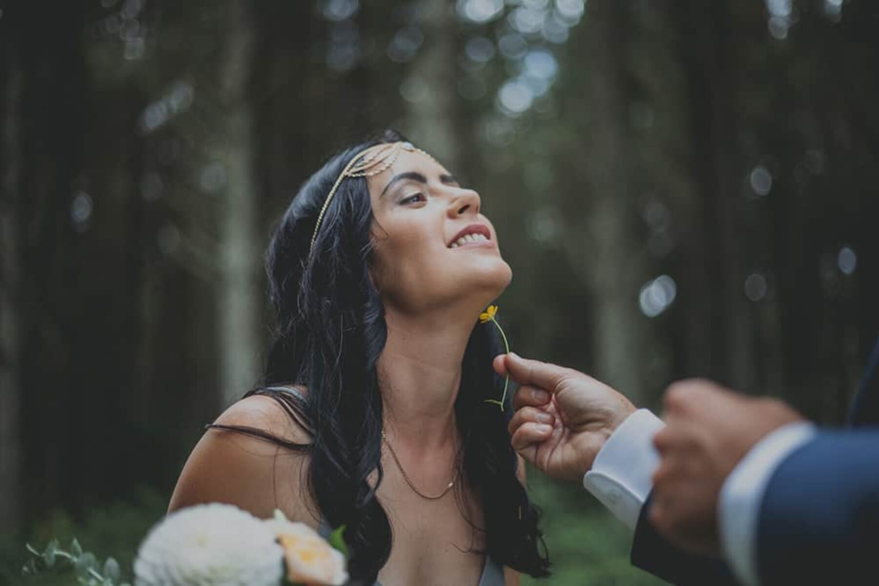 Rustic wedding at New Zealand's Old Forest School - photography by Lucy Rice