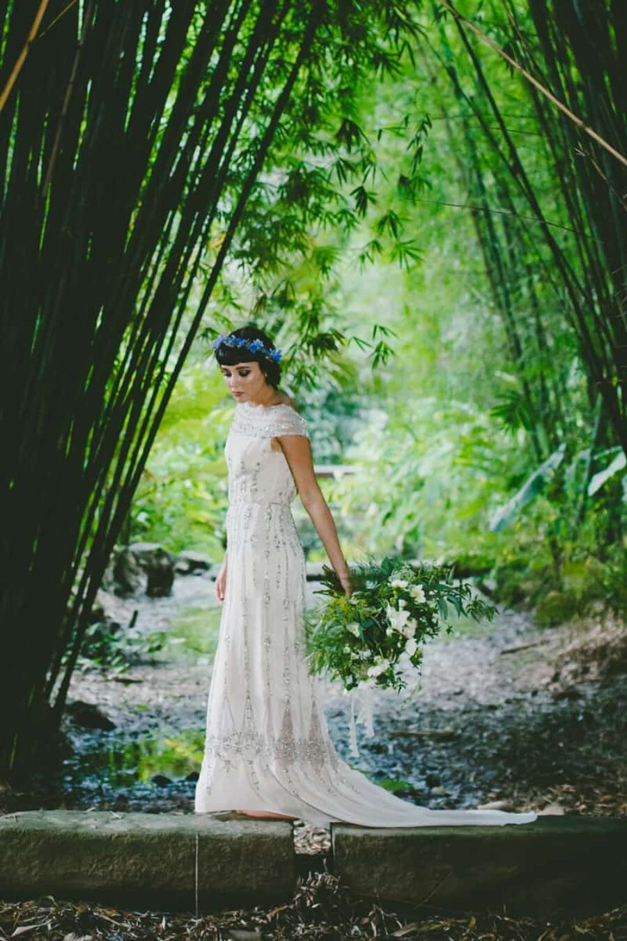 tropical rainforest wedding