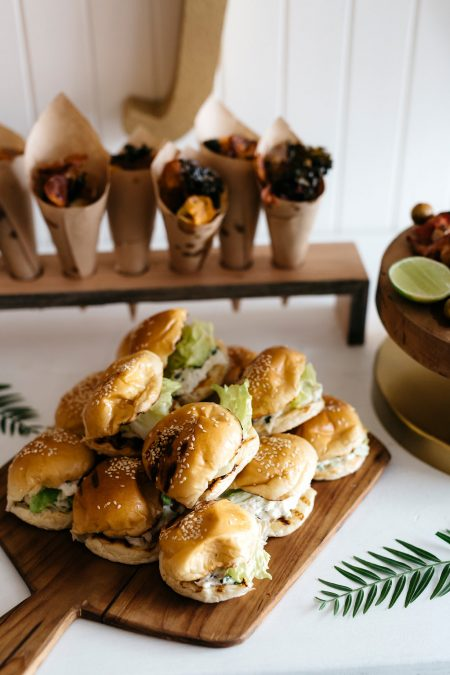 party food – casual canapes