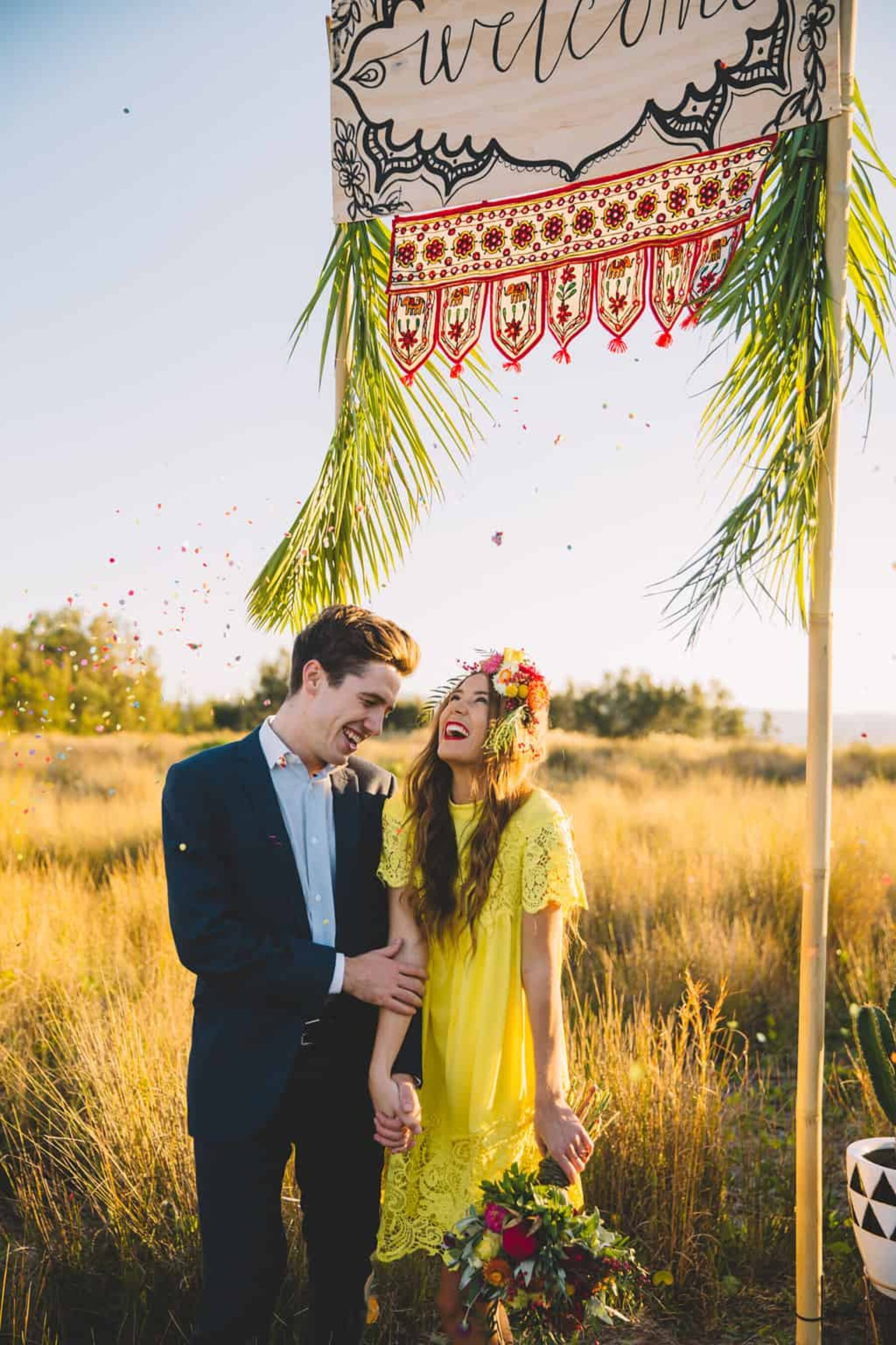 Vibrant Mexican fiesta wedding inspiration