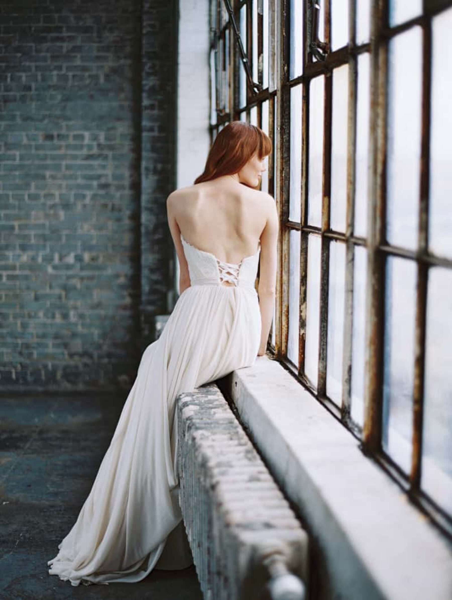 modern ethereal bridal collection by Truvelle