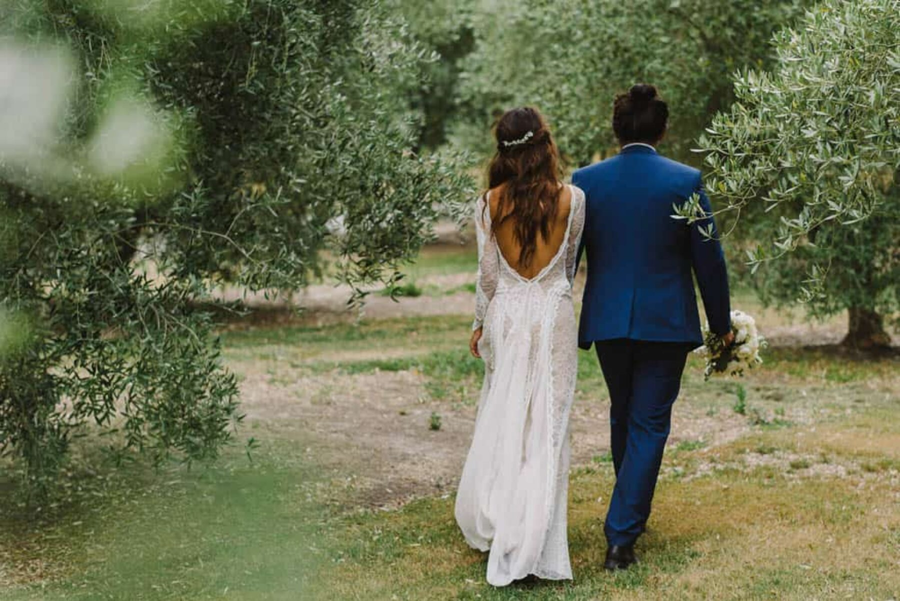 Grace Loves Lace real bride in Inca gown