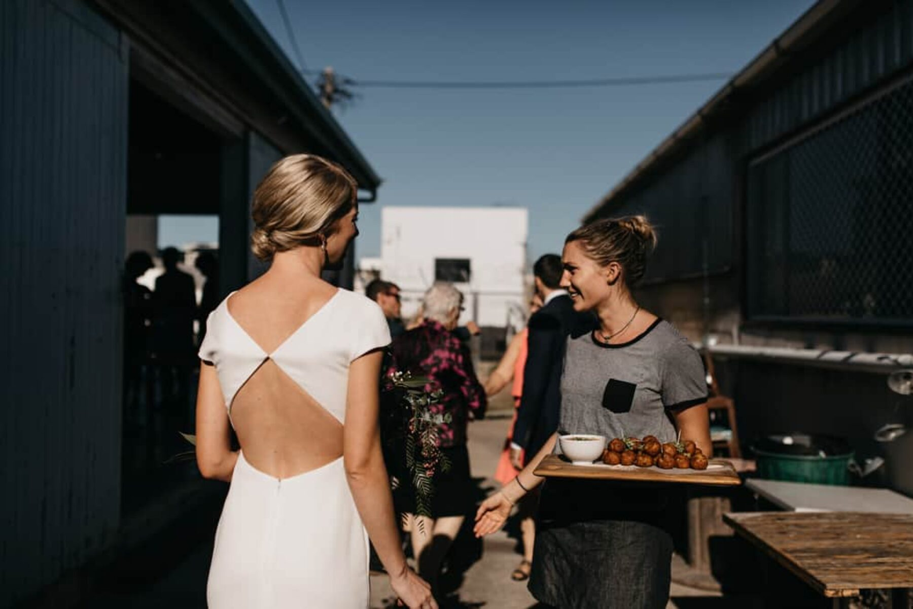 Modern Townsville warehouse wedding - photography by SB Creative Co.