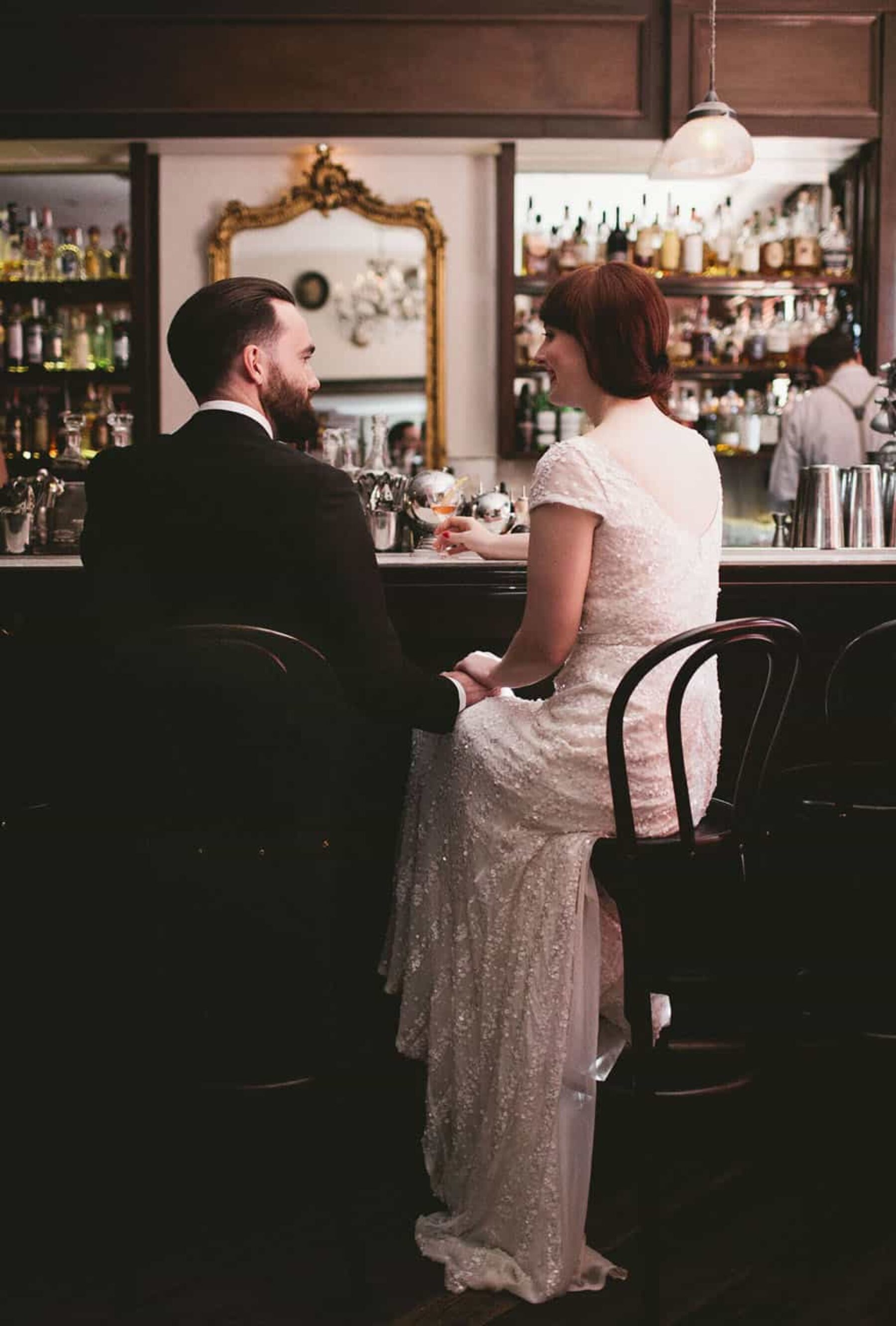 Classic cocktail wedding at Movida - photography by It's Beautiful Here