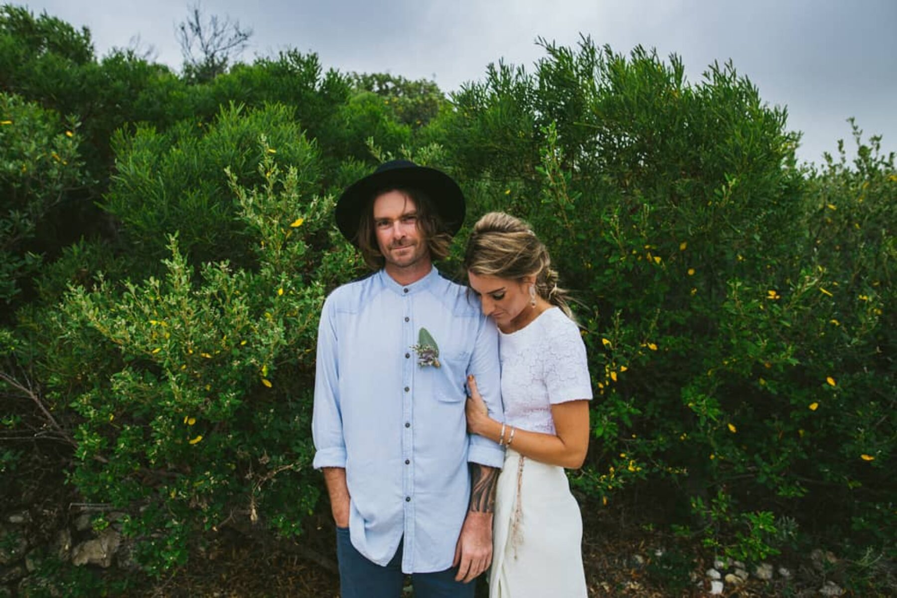 relaxed Mexican-inspired beach wedding - photography by Jenna Mason