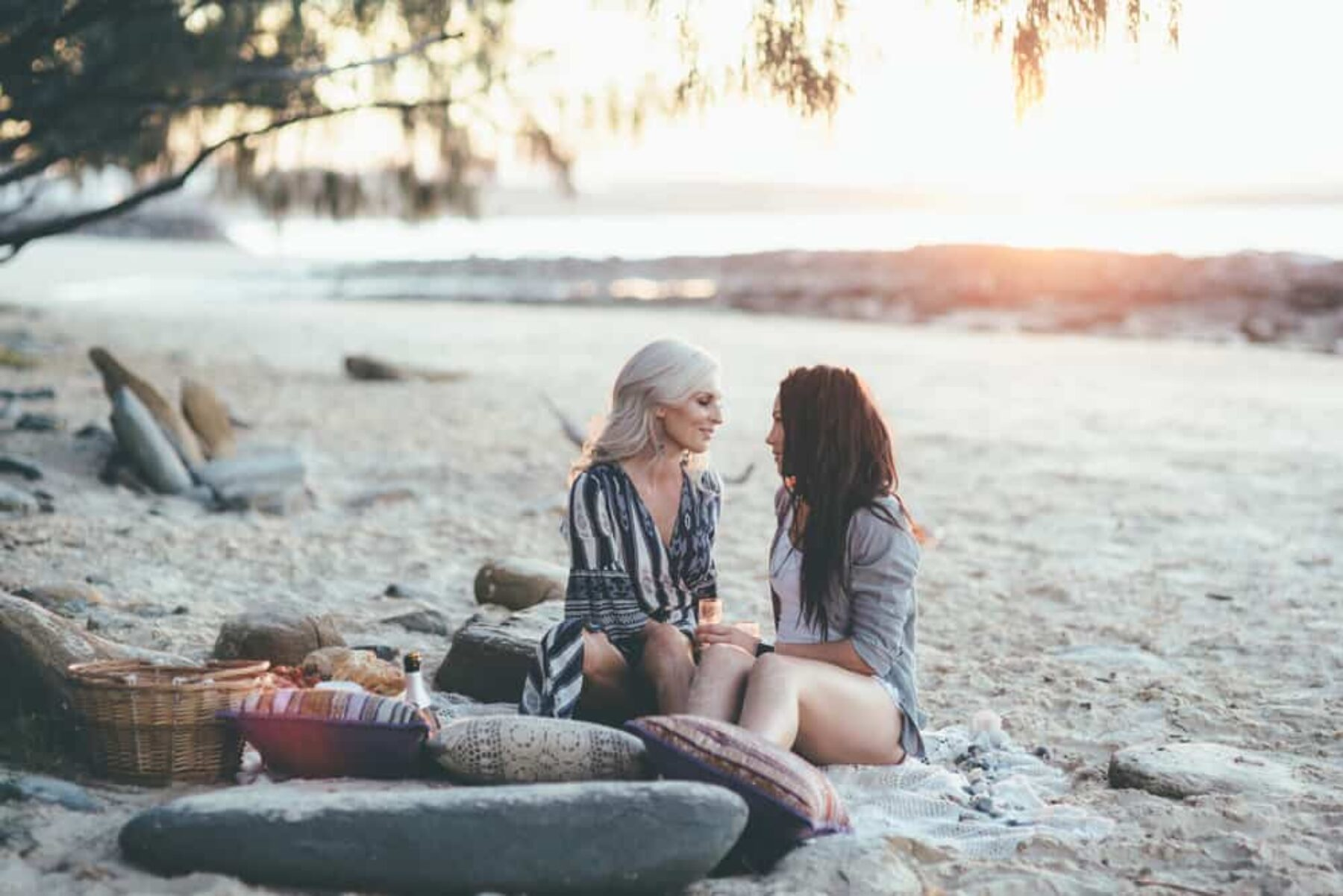 Surprise beach proposal shoot by Talitha Crawford