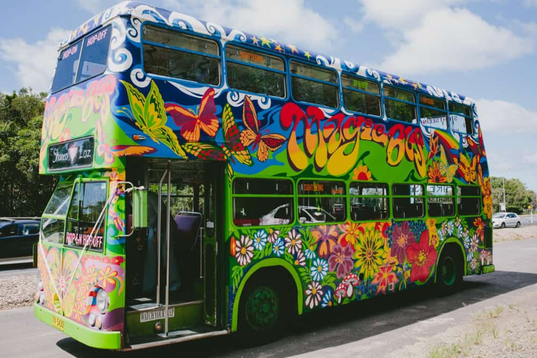 The Byron Bay Magic Bus