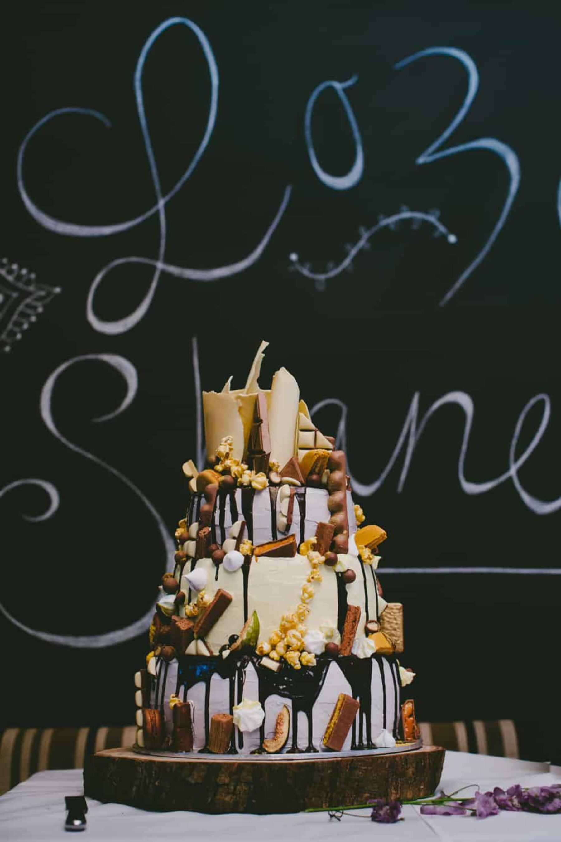 epic gluten free wedding cake
