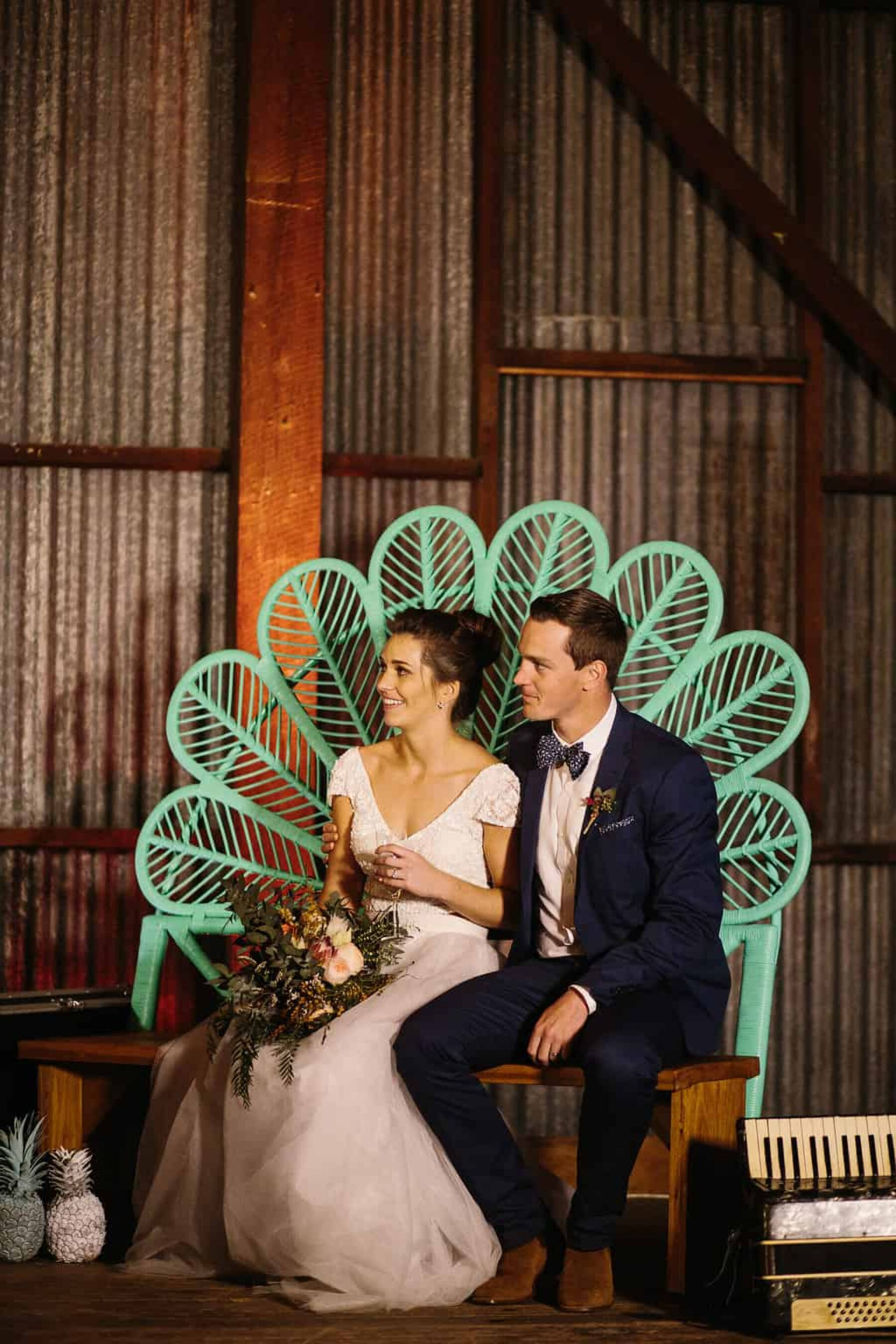 wedding love seat