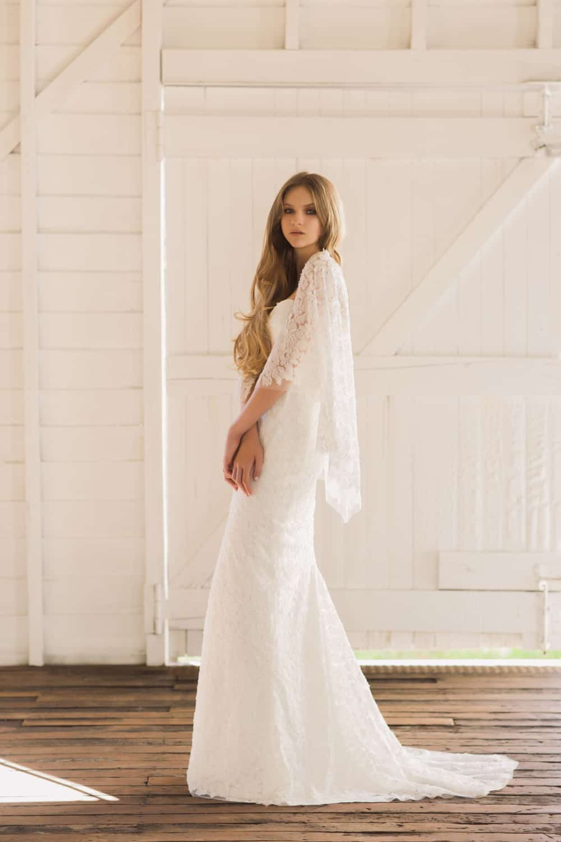 2017 bridal collection from Brisbane designer Jennifer Gifford