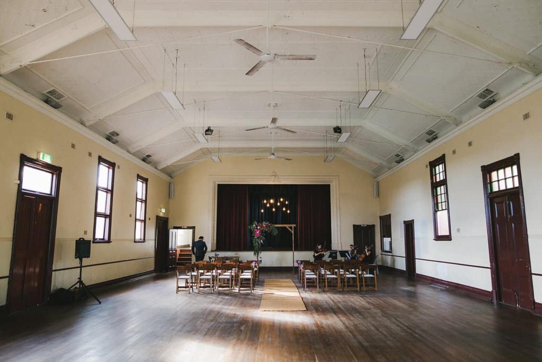North Perth Town Hall wedding - photography by Amanda Alessi