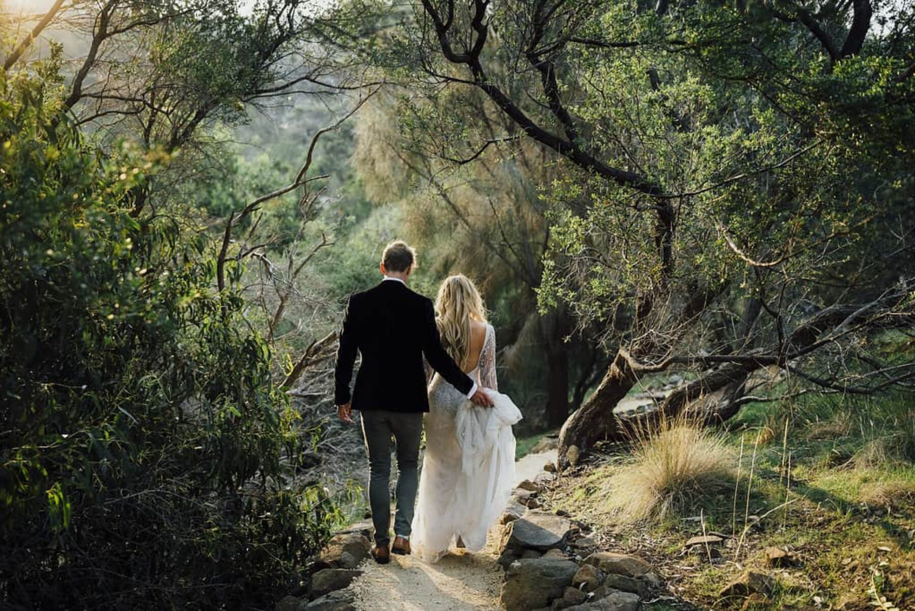 Avalon Coastal Retreat wedding Tasmania - photography by James Simmons