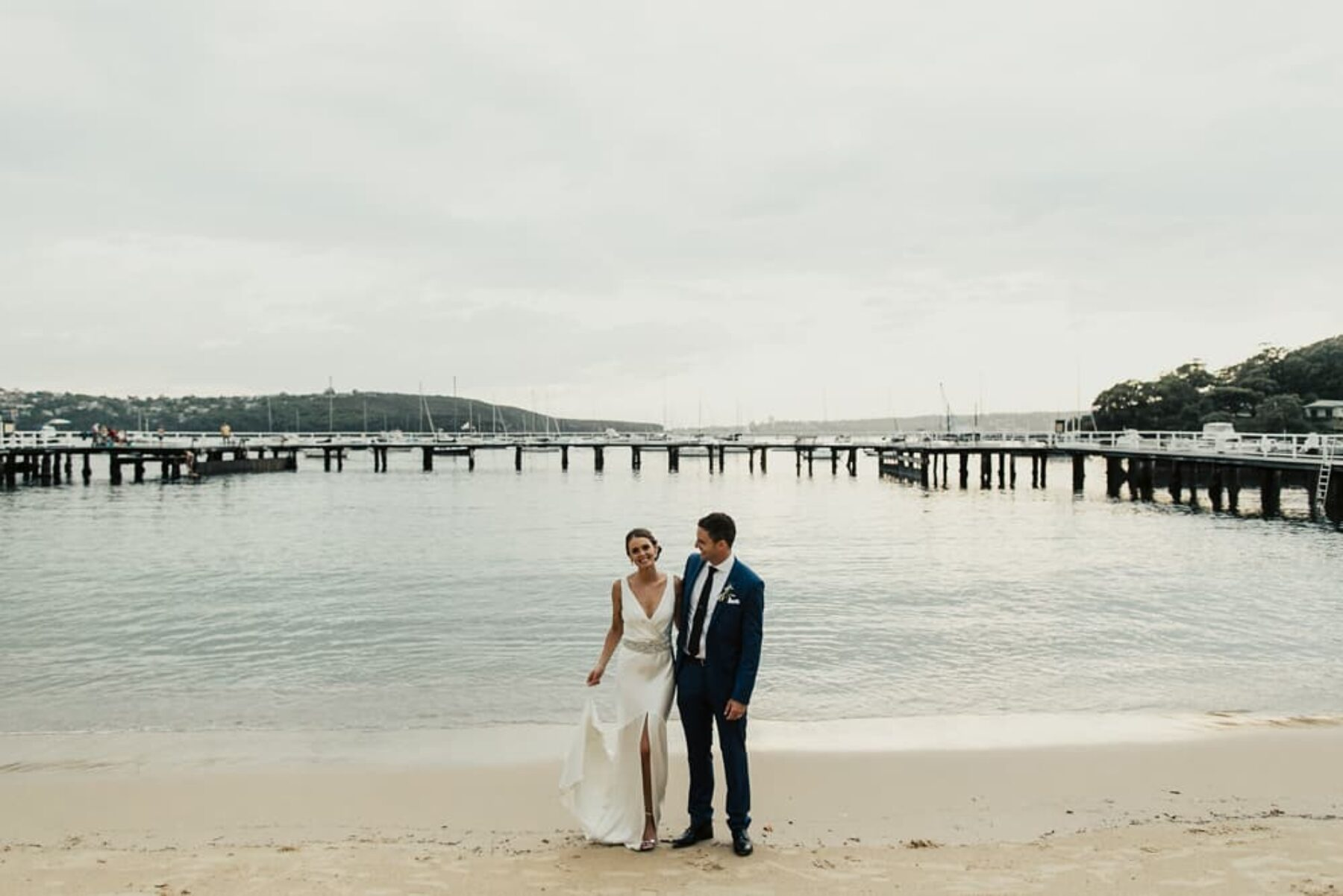 modern Balmoral wedding by Sydney photographer Matt Godkin