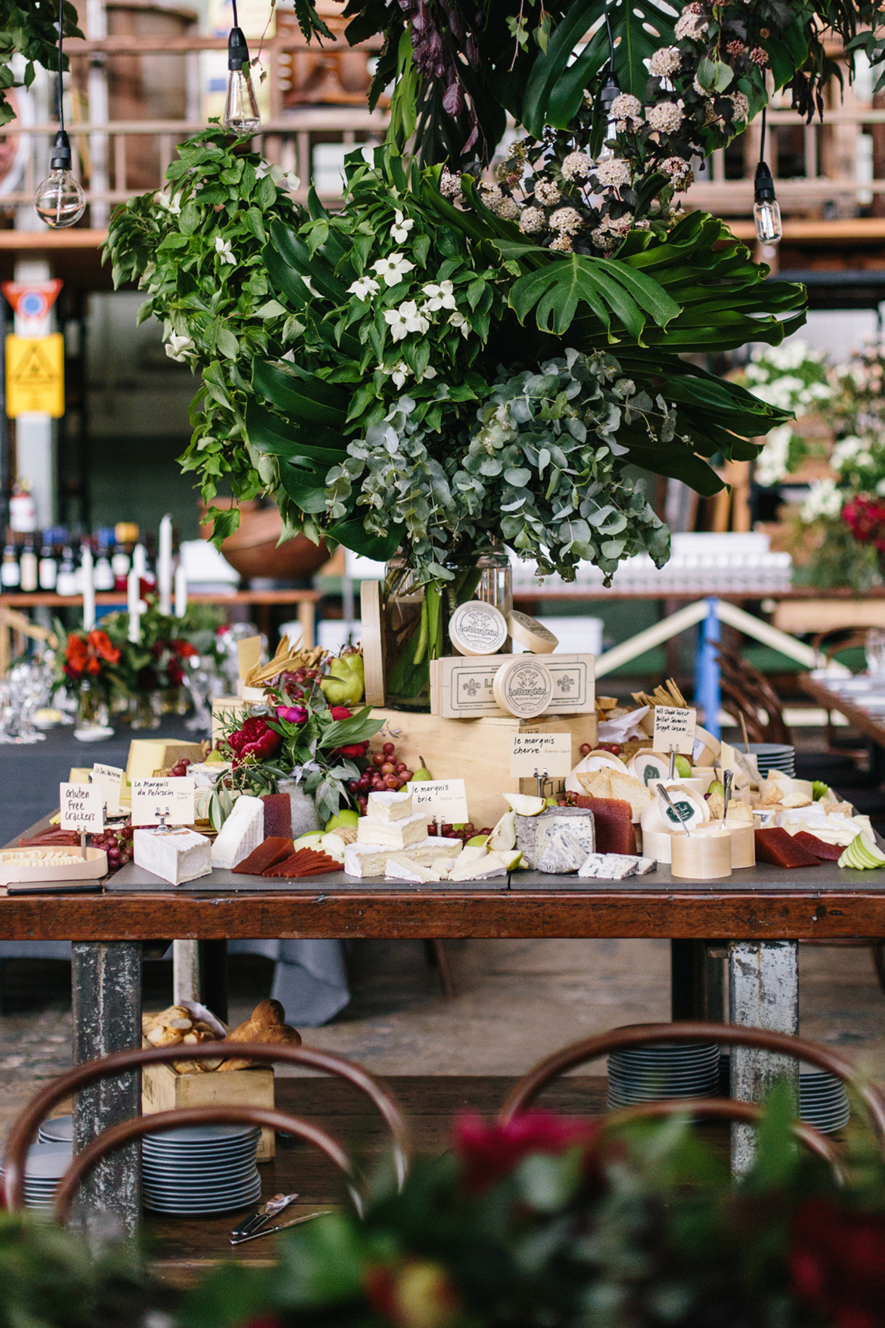 epic cheese grazing table by Ed Dixon Food Design