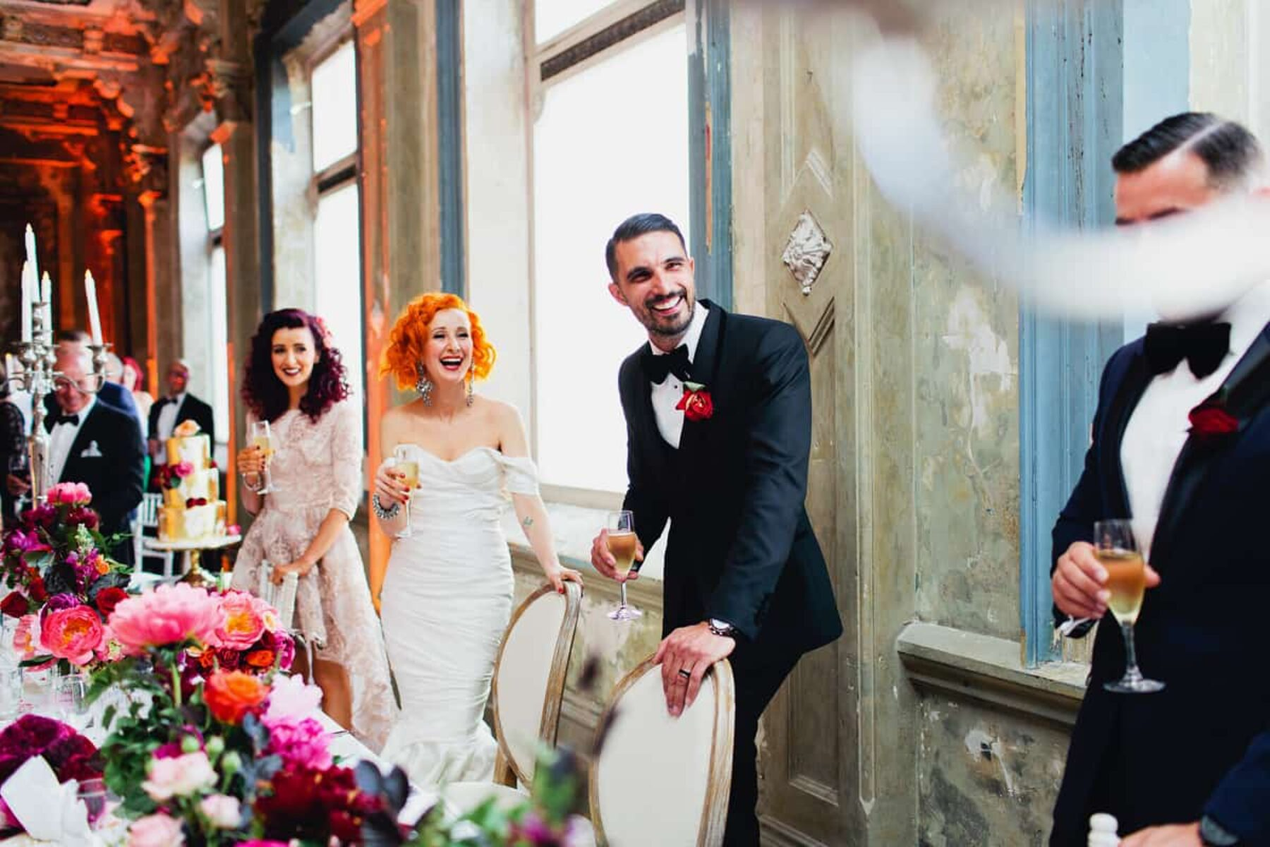 Melbourne wedding at The George Ballroom - photography by Sayher Heffernan