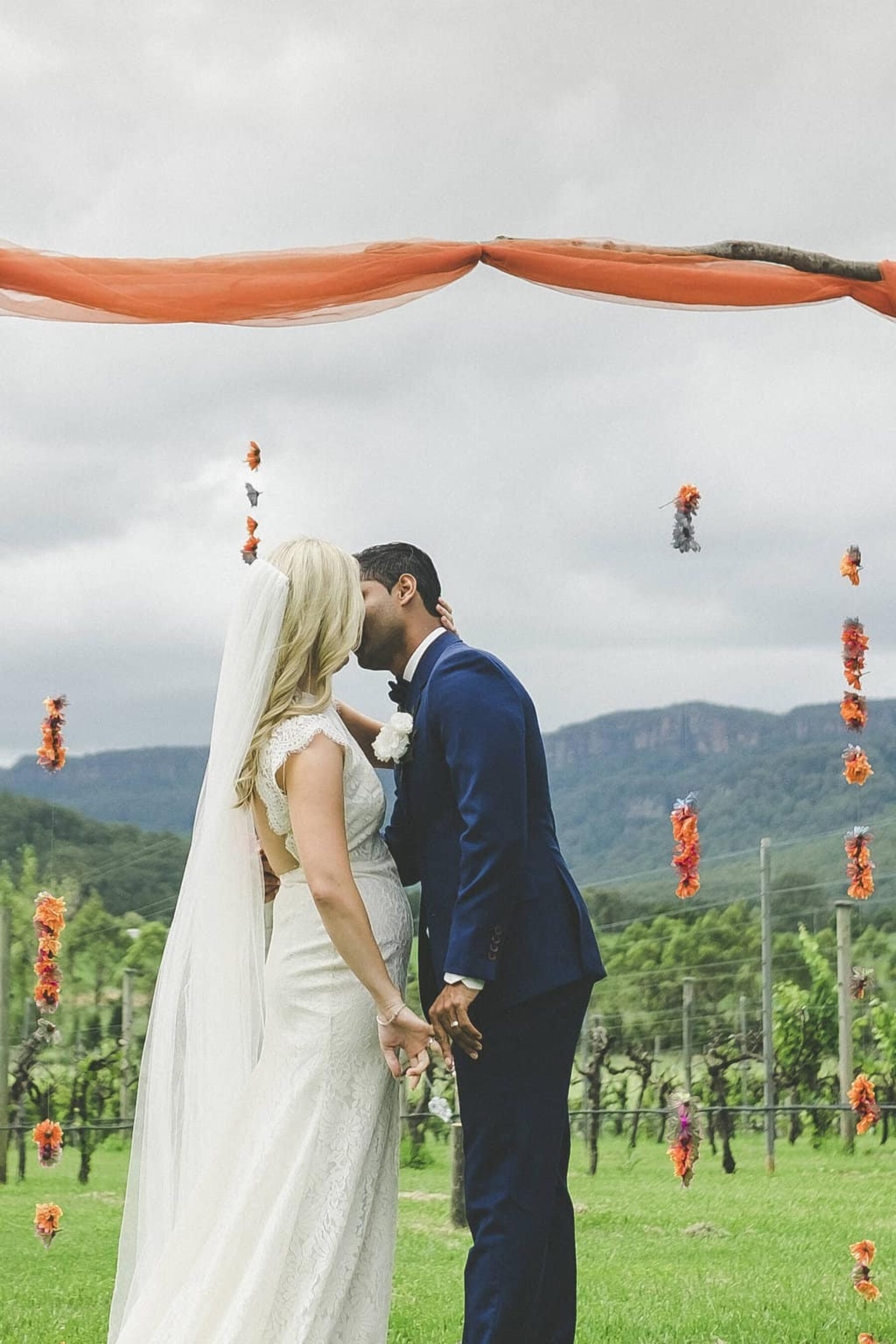 vibrant Indian wedding in Kangaroo Valley - photography by Athena Grace