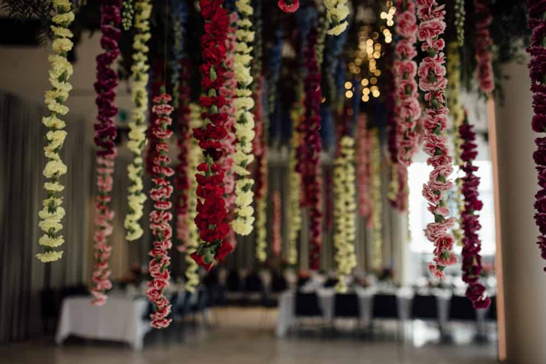 flower-filled wedding at Aerial Melbourne - Free the Bird Photography