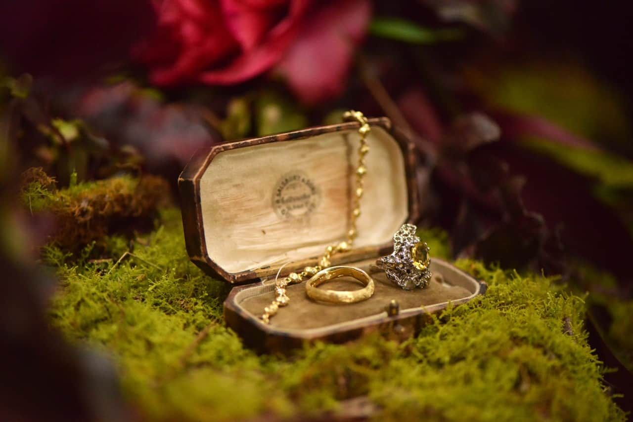 darkly romantic bespoke engagement rings by Julia deVille