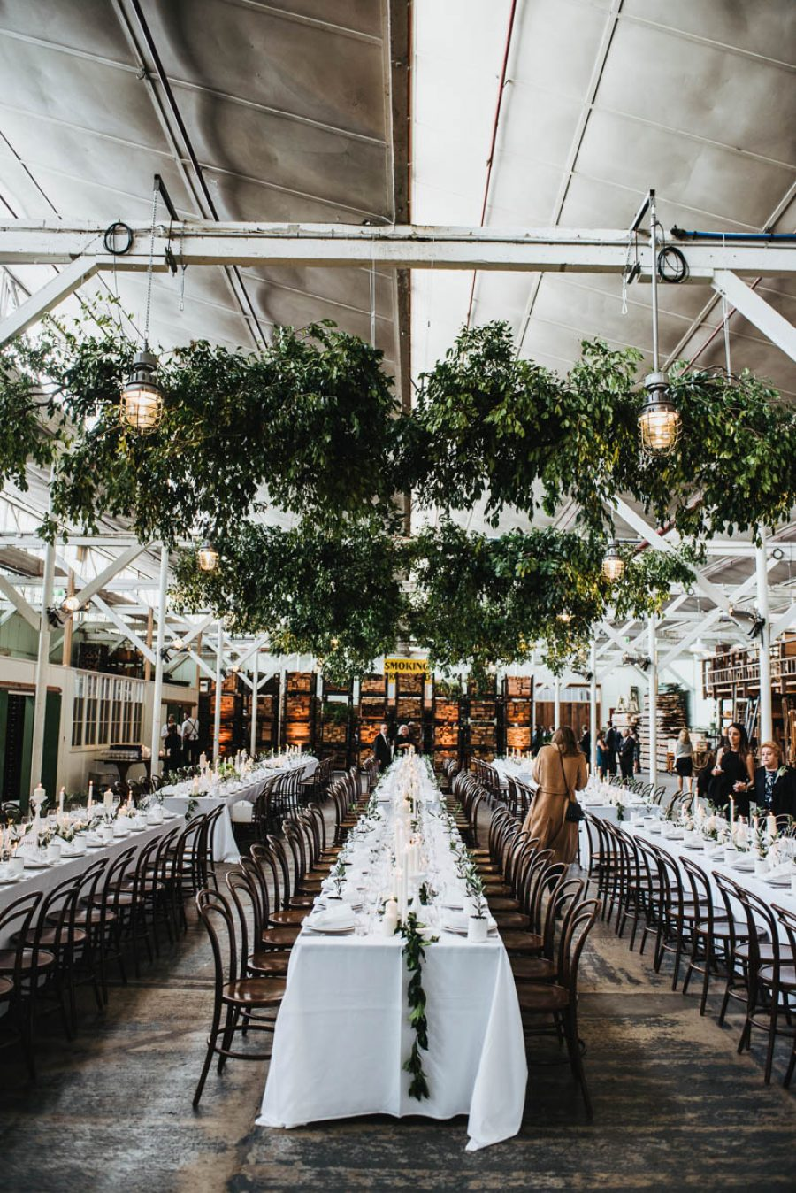 Wedding Decorations Melbourne To Elena David S Warehouse At