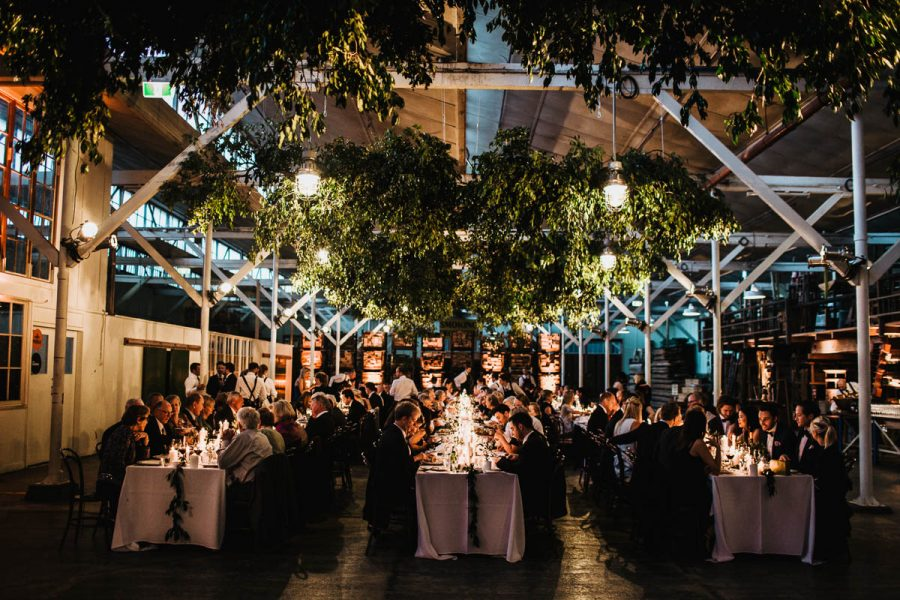 Melbourne warehouse wedding at Lauren's Hall - photography by Daniel Brannan