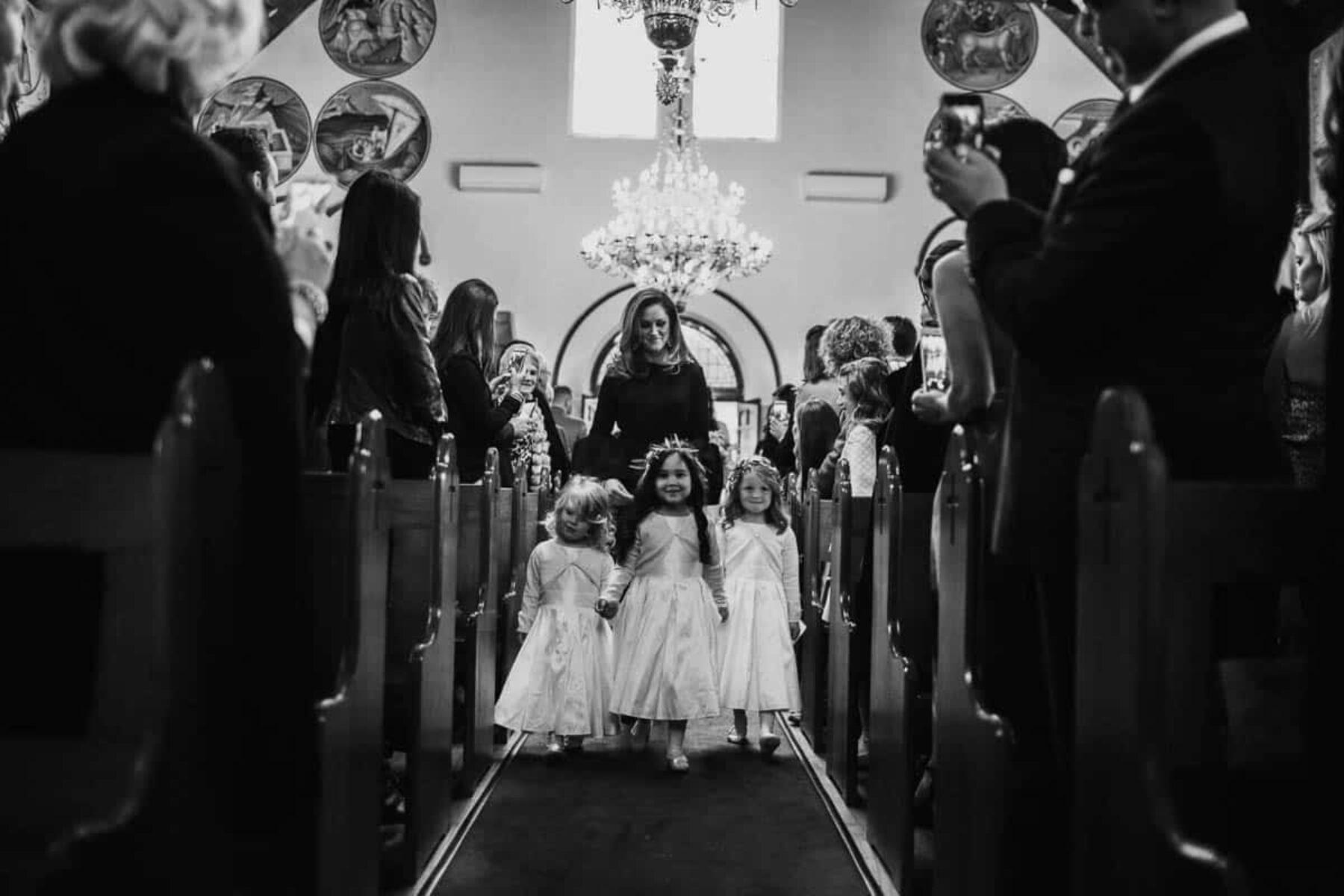 Greek Orthodox Church wedding Melbourne - photography by Daniel Brannan